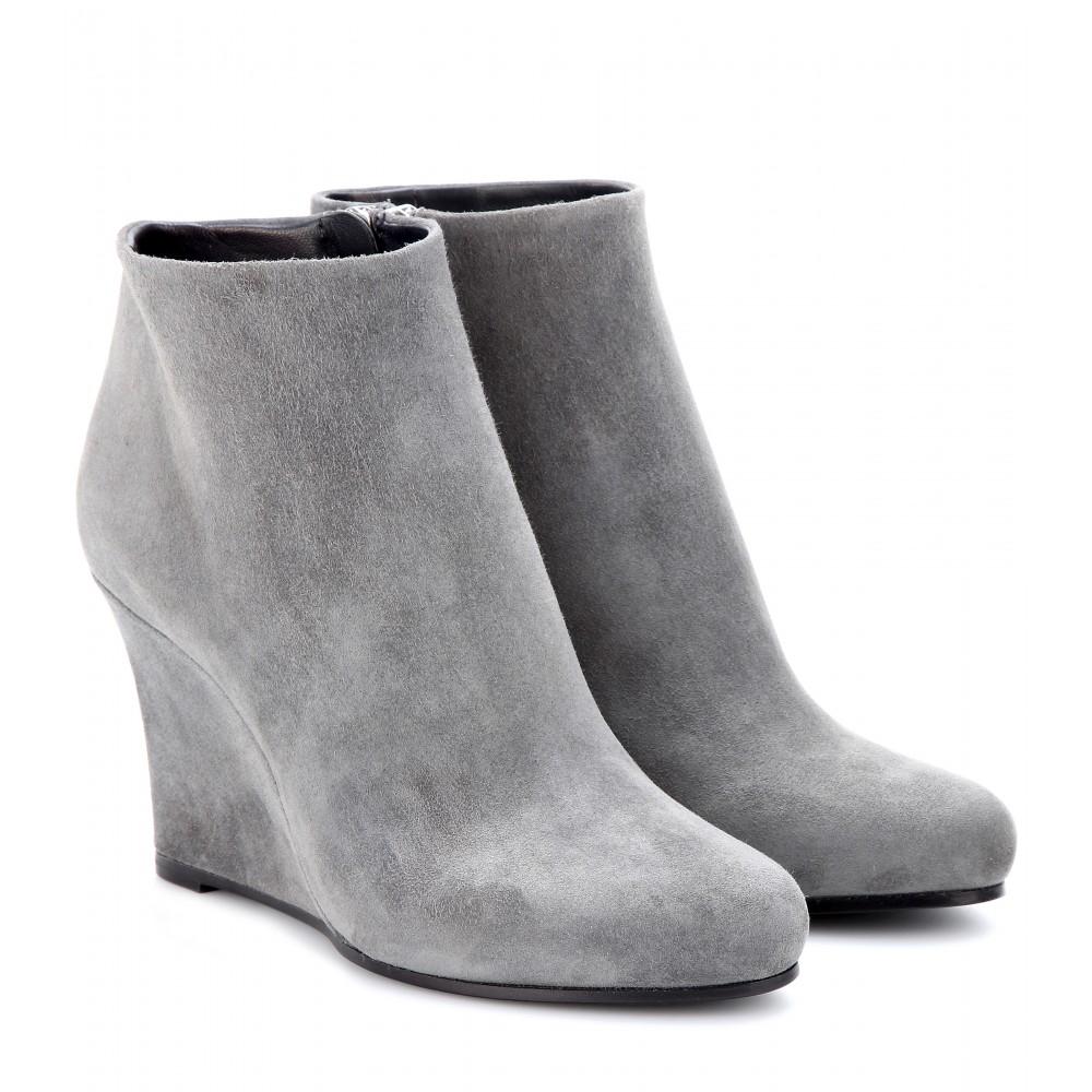 Grey Wedge Shoes Uk