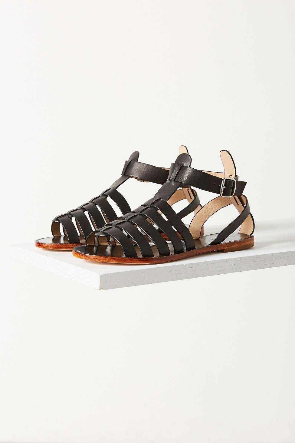 7a0fb22bf29b Lyst - Matiko Luna Gladiator Sandal in Black