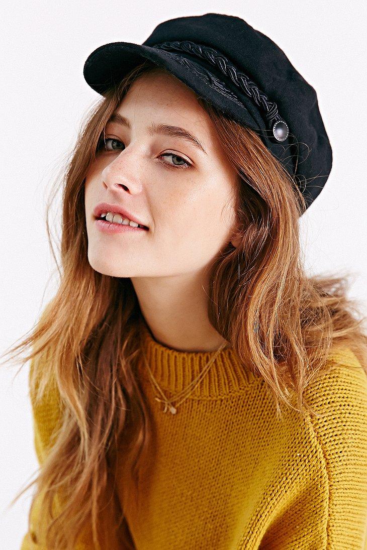 Lyst - Urban Outfitters Greek Fisherman Hat in Black 480cf8e0ec3b