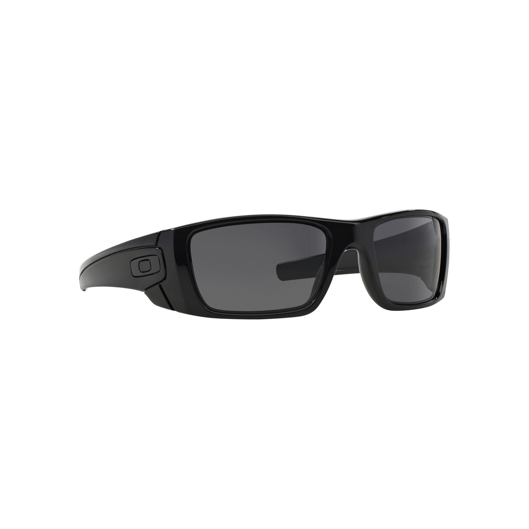 06aea5b4fd7 Oakley Black  fuel Cell  Oo9096 Square Sunglasses in Black for Men ...