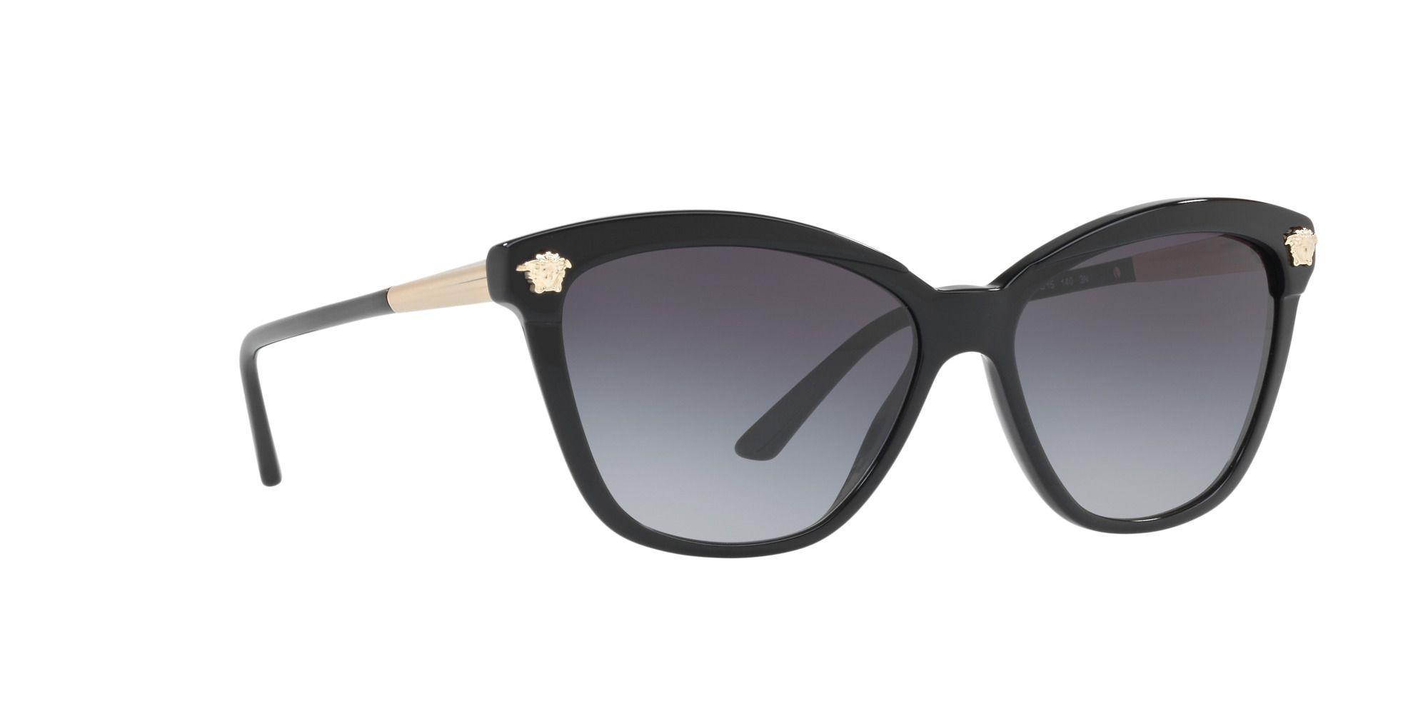 a49a14de4fd8 Versace Black Ve4313 Butterfly Sunglasses in Black - Lyst