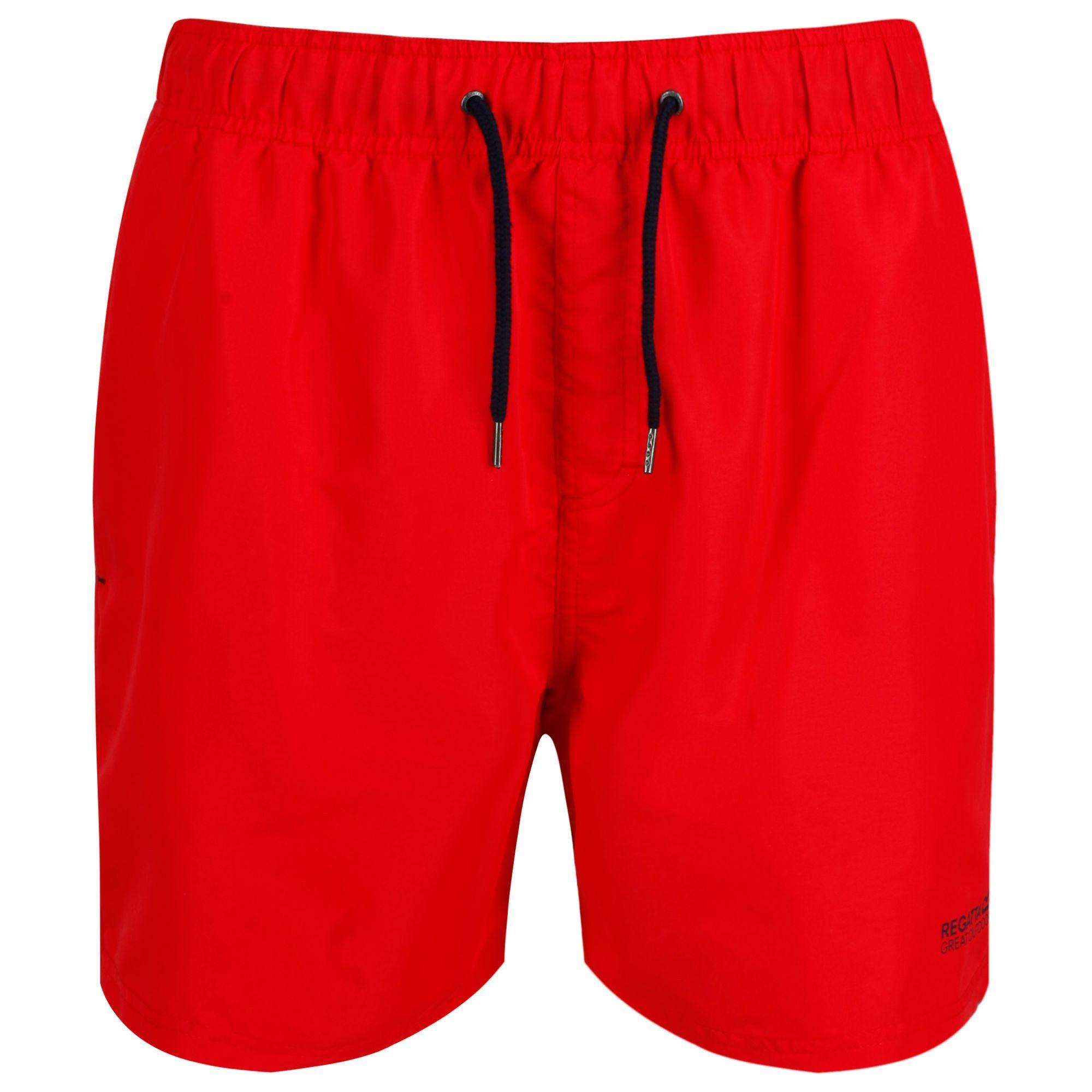 f0249dc7e9 Regatta Red 'mawson' Swim Shorts in Red for Men - Lyst