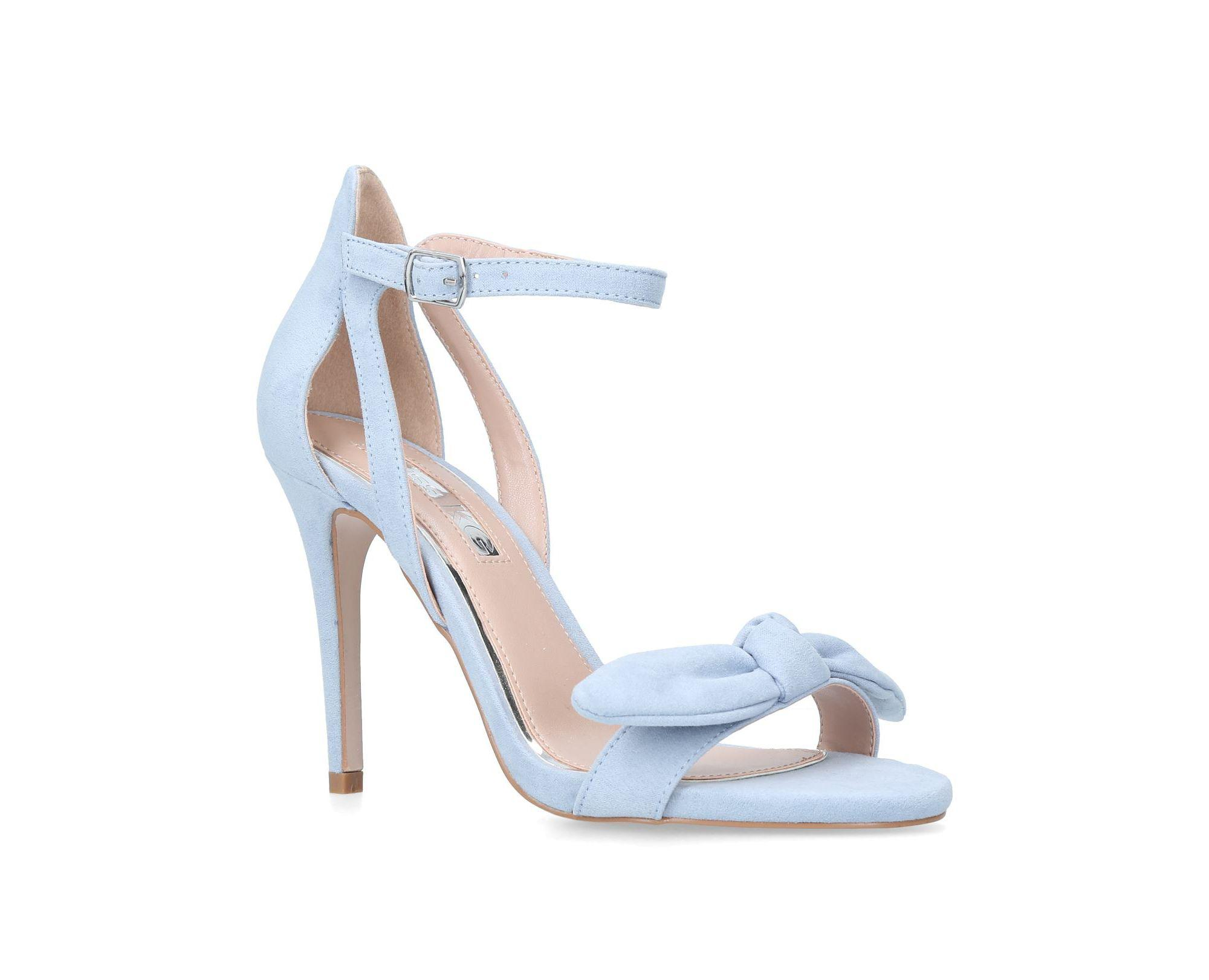31fe7842525 Miss Kg Blue  suzie  High Heel Sandals in Blue - Lyst