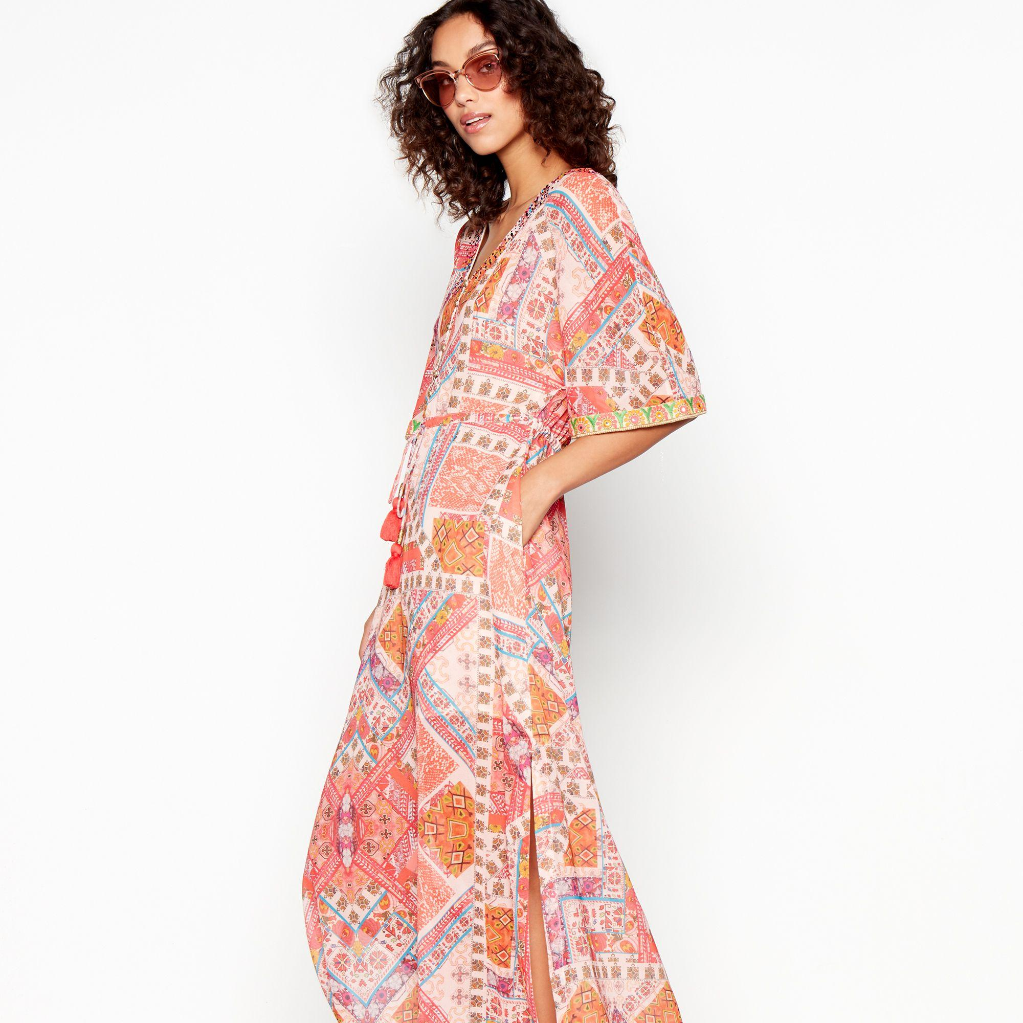 0fd551c12a7 Matthew Williamson. Women s Multicoloured Tile Print Maxi Dress