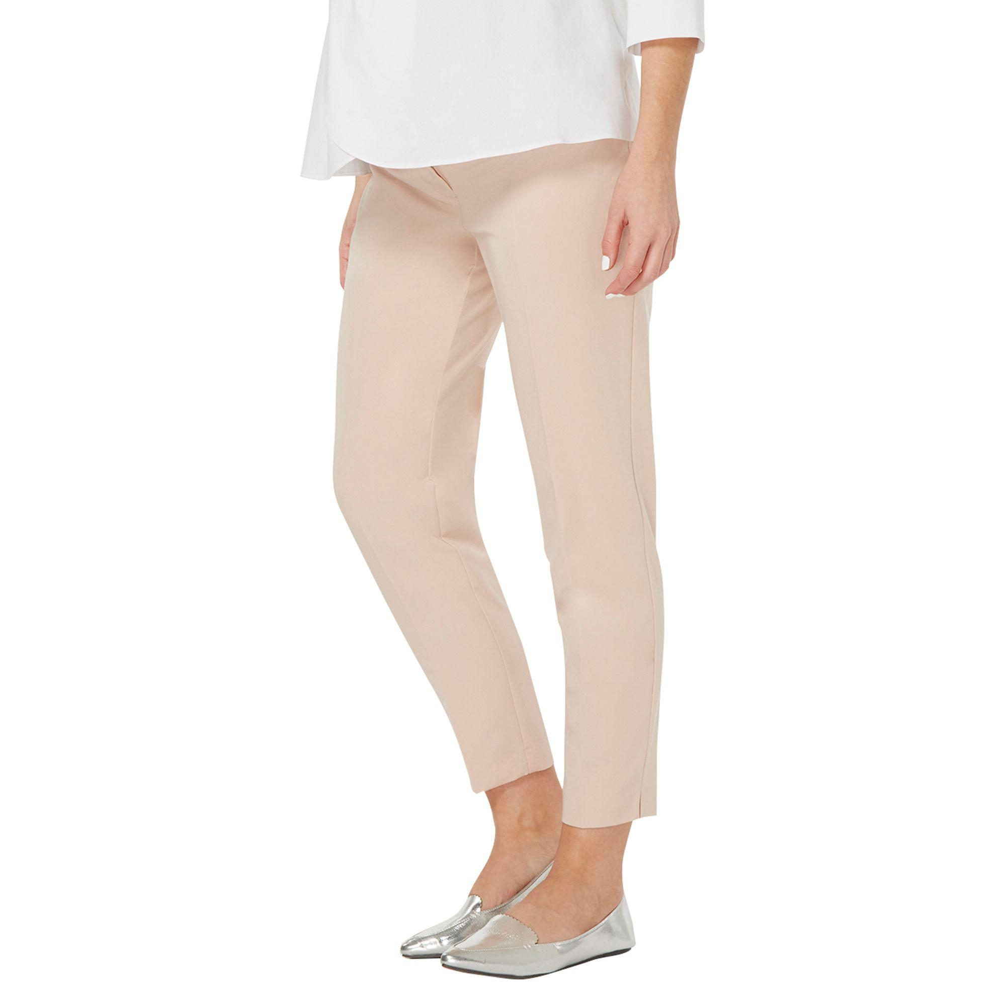 992dd2b4b2 Dorothy Perkins Maternity Blush Ankle Grazer Trousers in Pink - Lyst