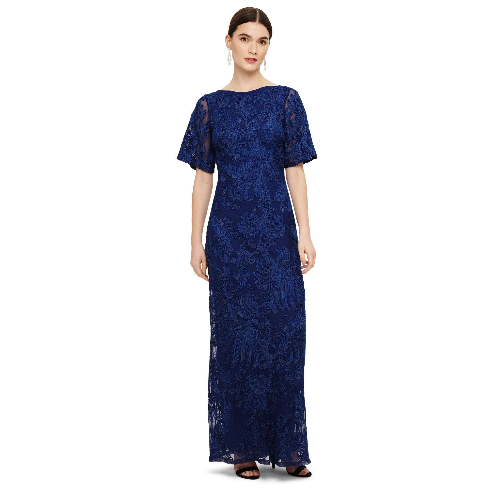 Phase Eight Blue Cecily Tapework Dress in Blue - Lyst