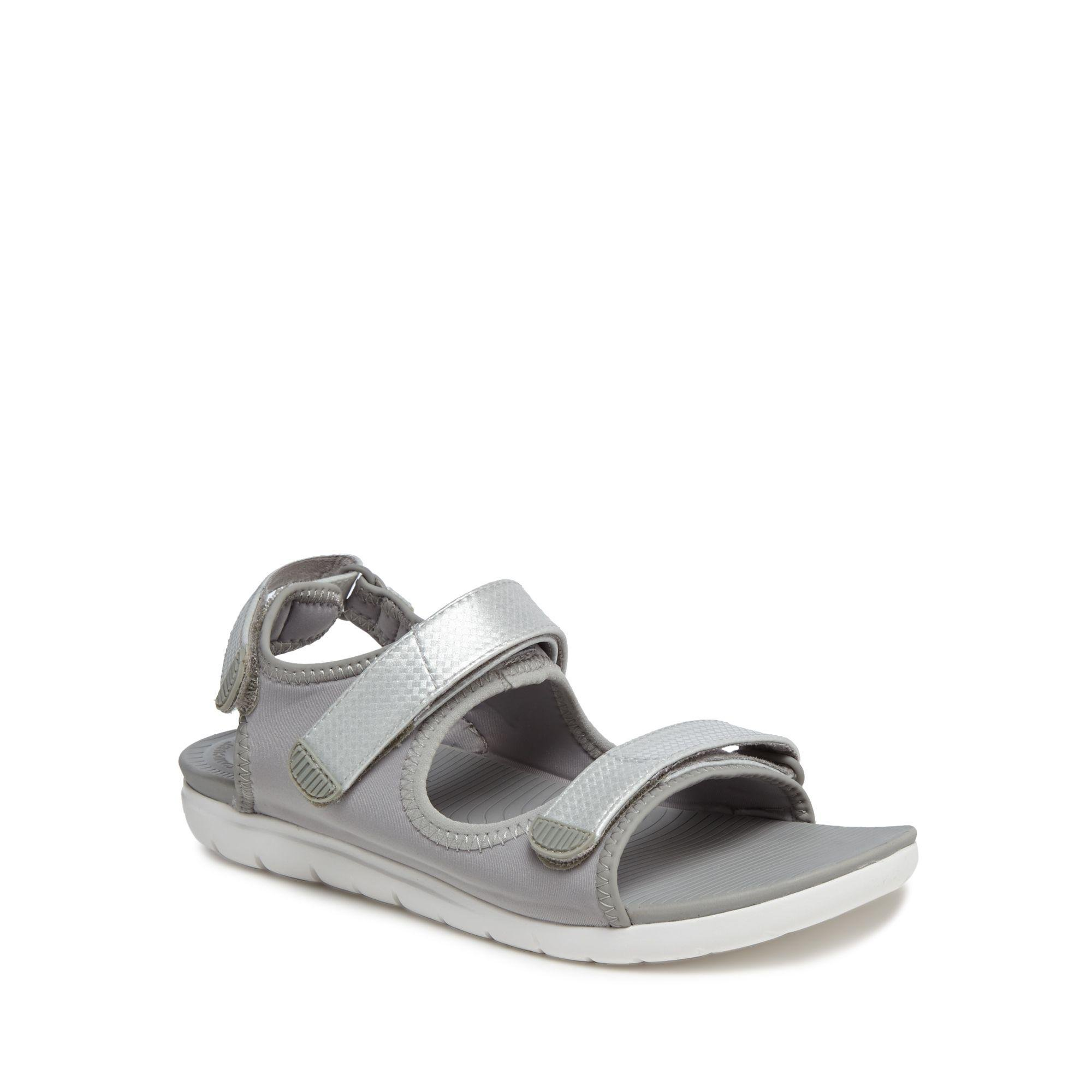 b65d73815dac Fitflop Light Grey  neoflex  Sandals in Gray - Lyst