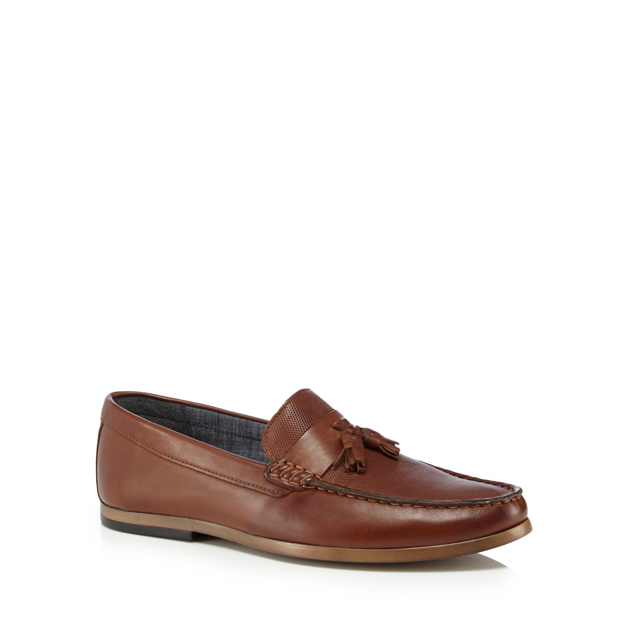 Brown leather 'Gravity' loafers for sale finishline outlet where to buy clearance store cheap price cheap visa payment collections for sale bGAy3wlC