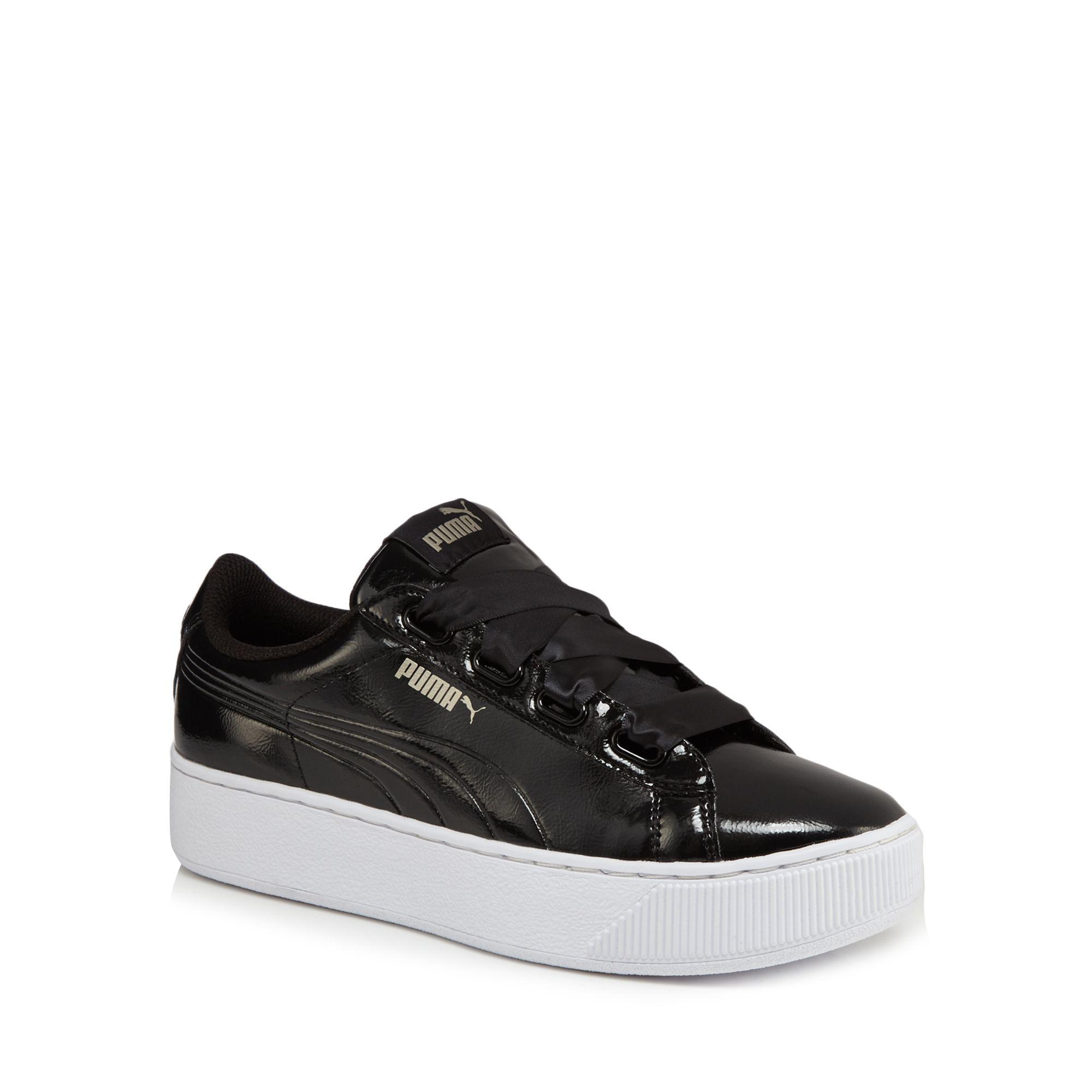 Black suede 'Vikky' mid flatform heel trainers shop for for sale free shipping tumblr EN1qxT7gy