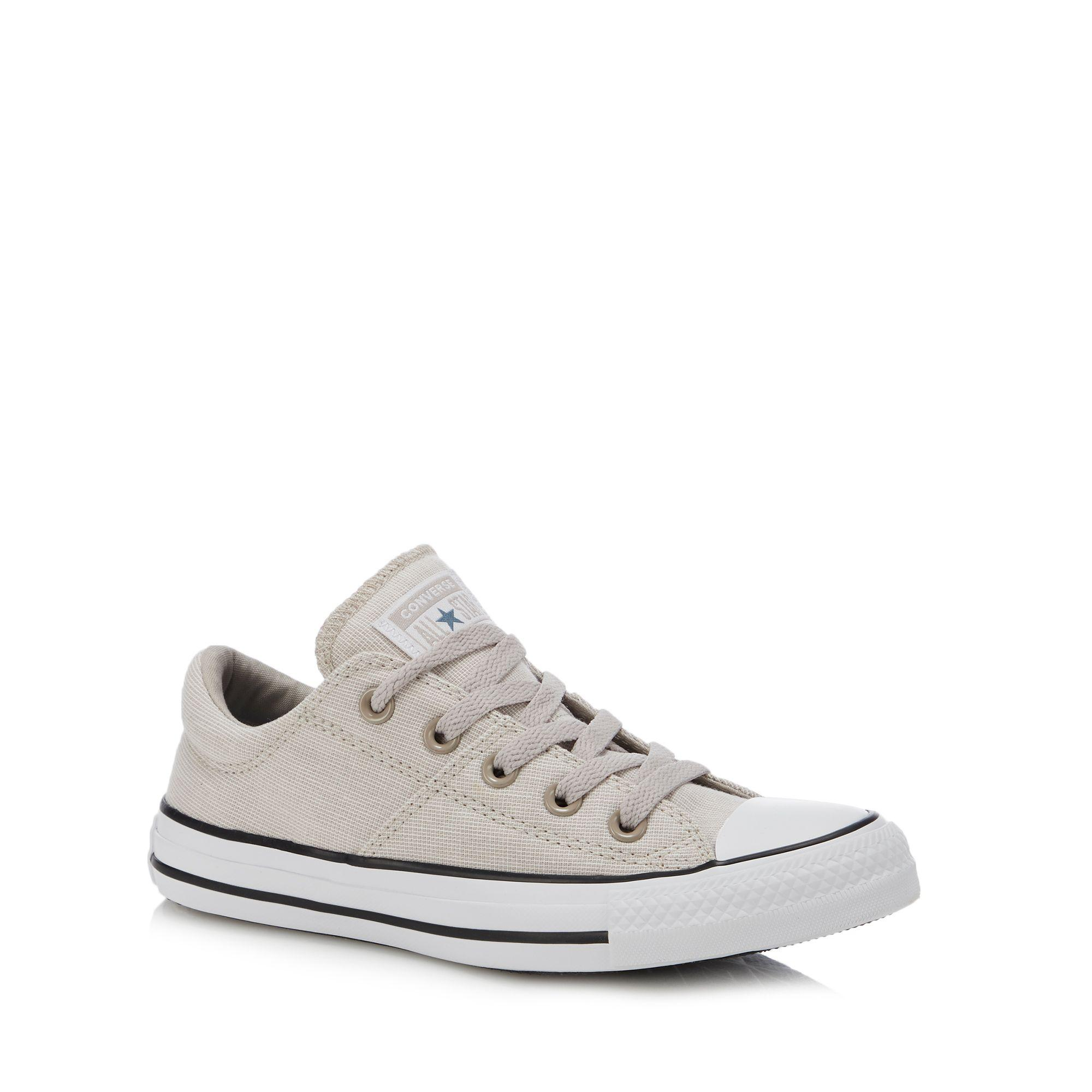 9fcc995577ce Converse Natural Canvas  madison  Trainers in Natural - Lyst