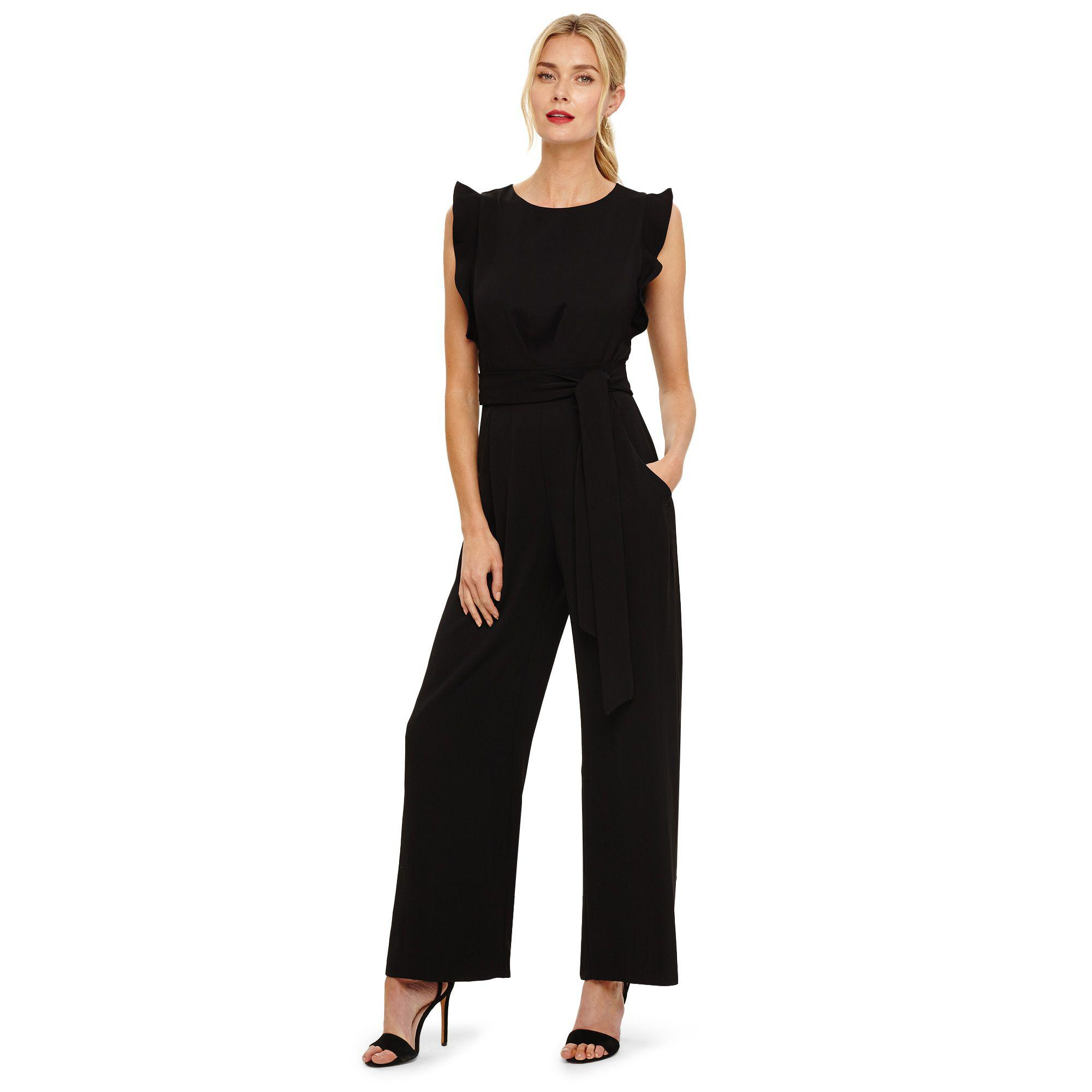 f40f7c659d Phase Eight Black Victoriana Jumpsuit in Black - Lyst