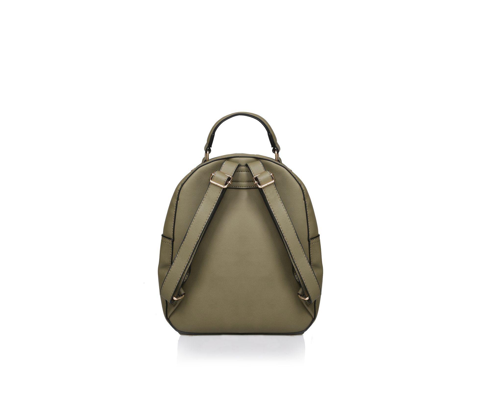 Carvela Kurt Geiger - Brown Khaki  blake Zip Front Backpack  Backpack Bag -  Lyst. View fullscreen 4ef1be6076