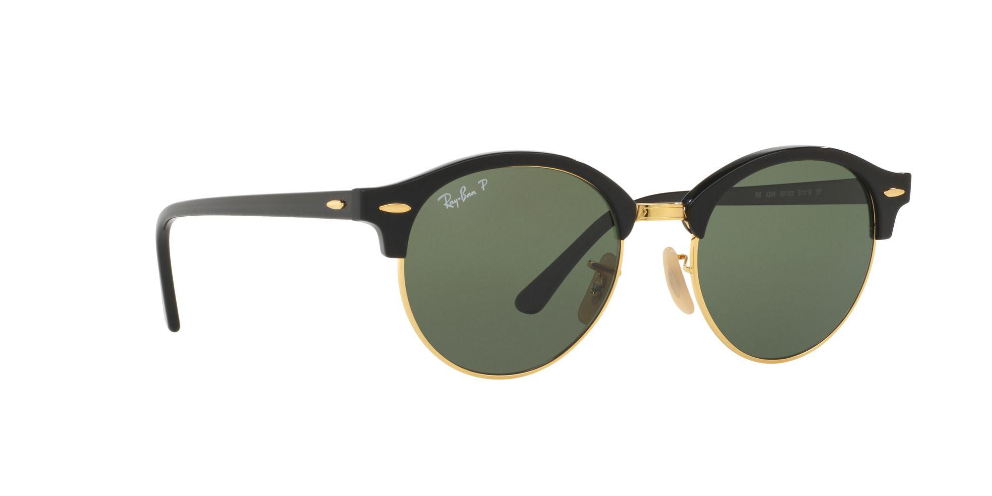 56aa5c062965c Ray-Ban Black  clubround  round Rb4246 Sunglasses in Black for Men ...