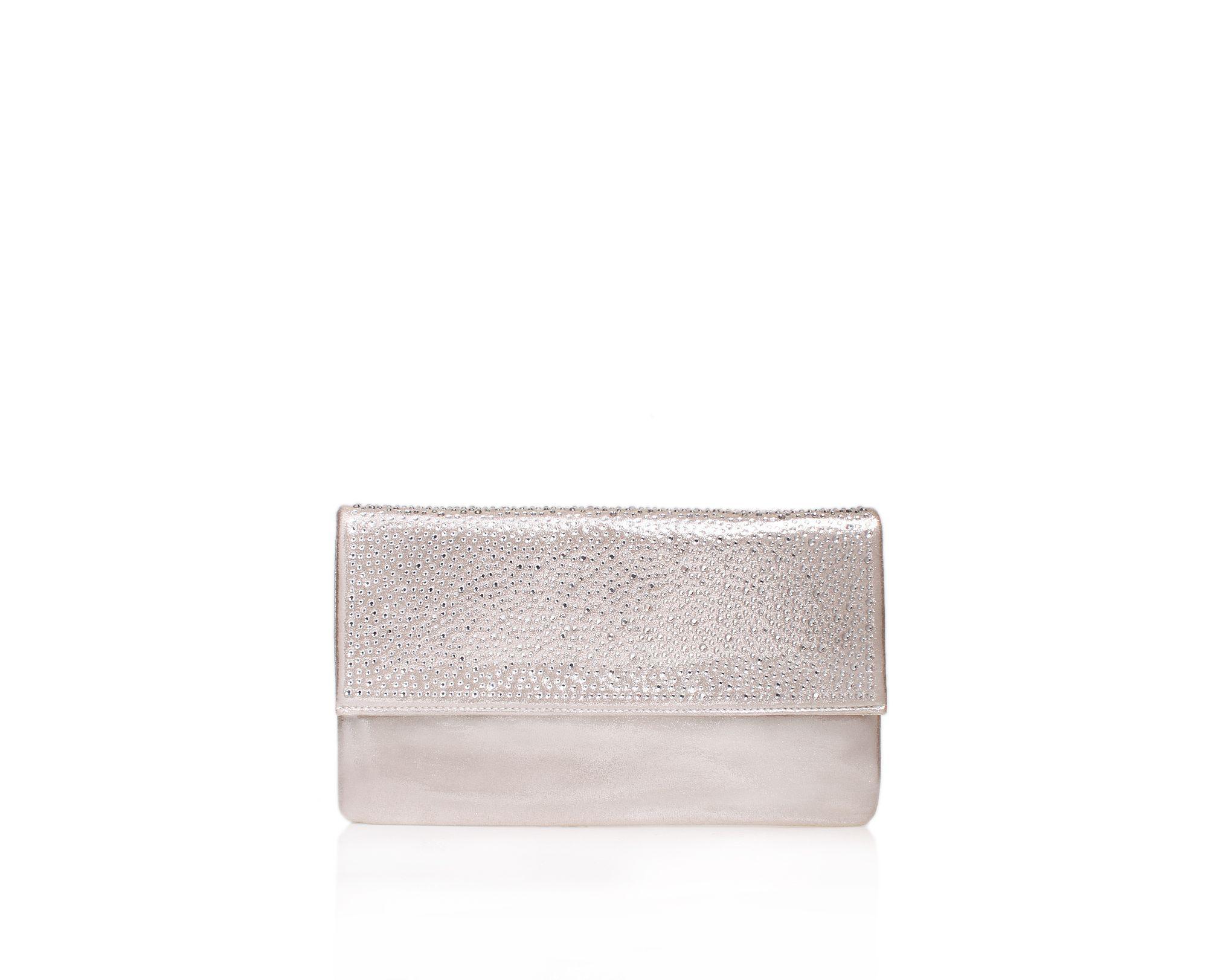 Carvela Kurt Geiger Desire Clutch Bag in Metallic - Save 61% - Lyst 577251df8eb02
