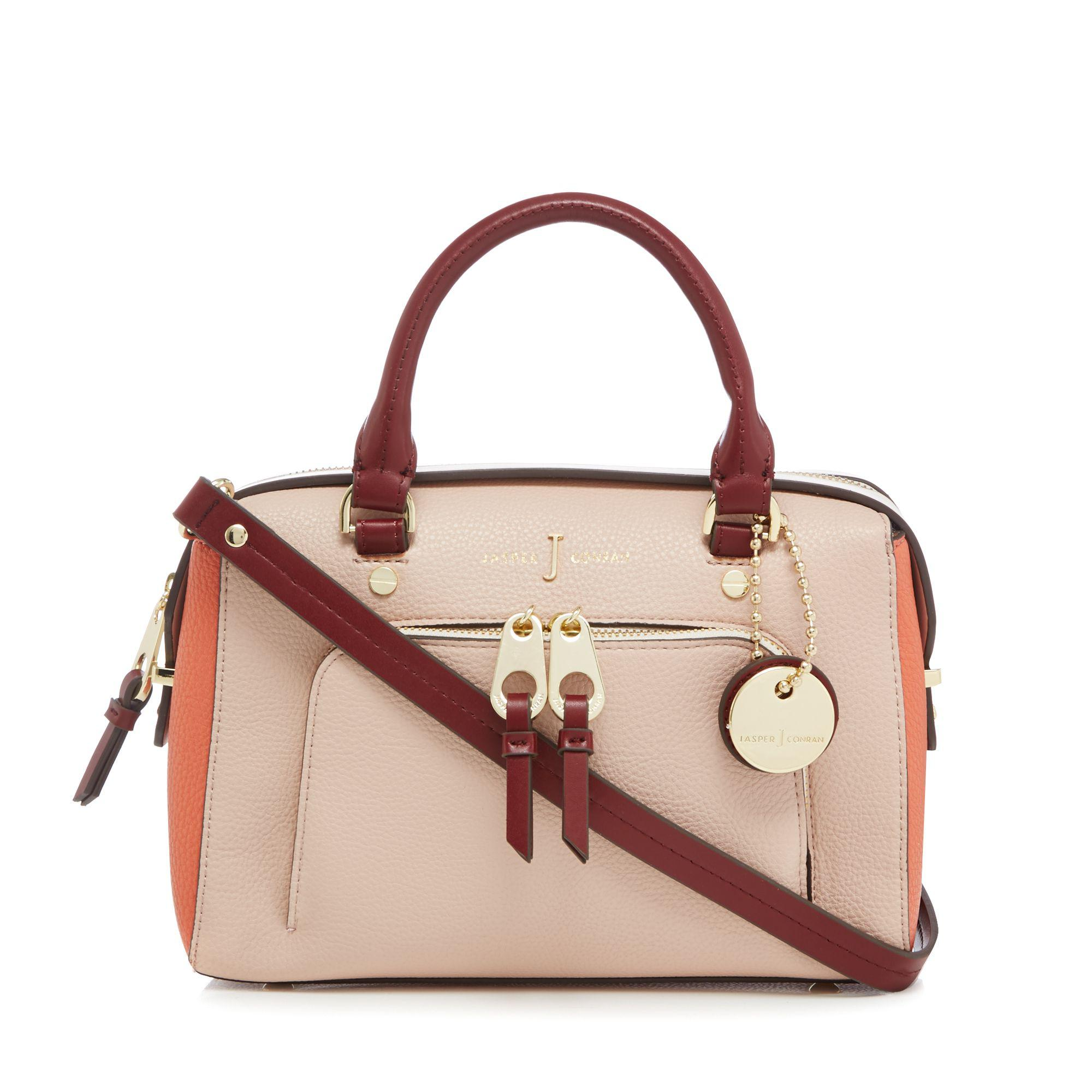 95a44919f636 J By Jasper Conran Pink Colour Block Grab Bag in Pink - Lyst