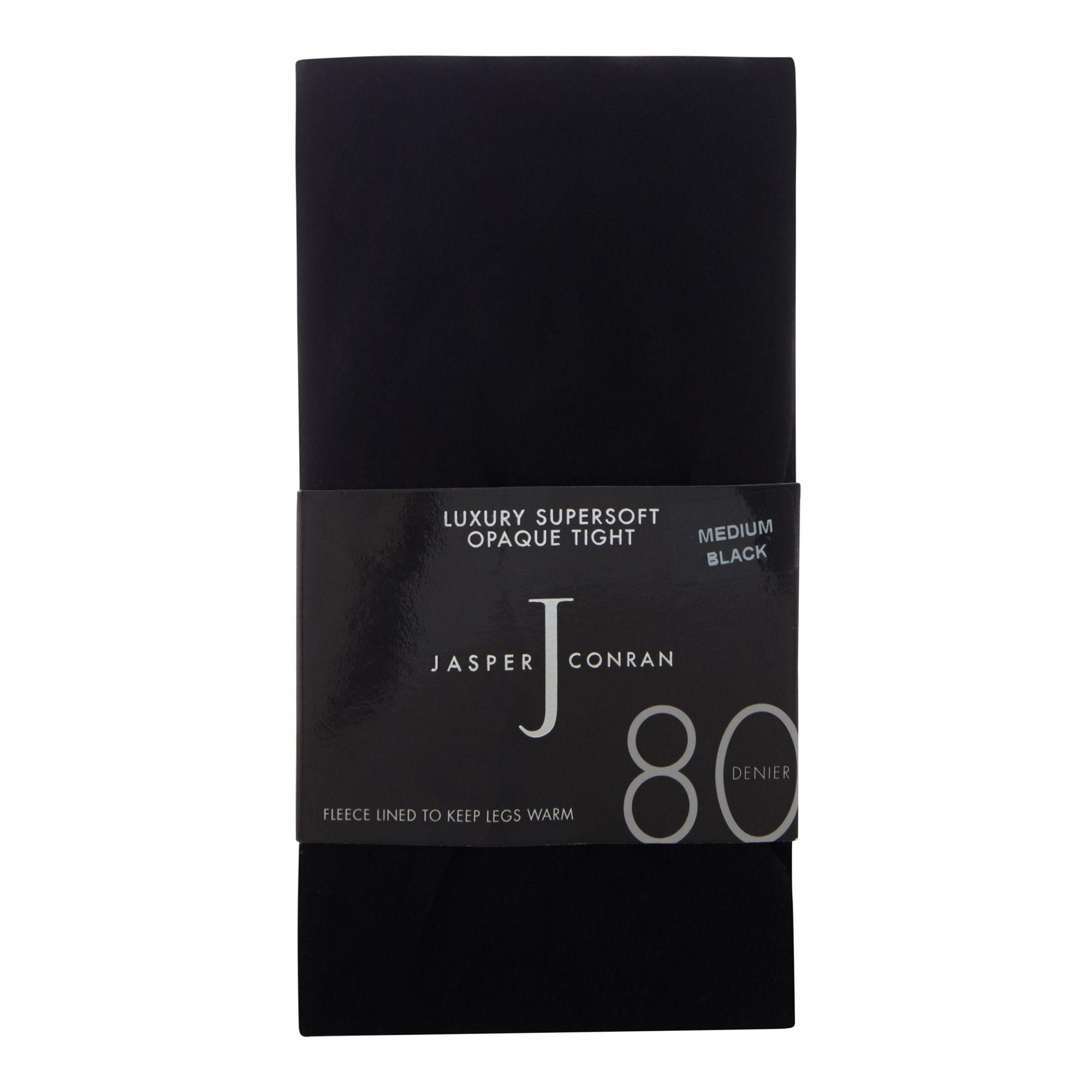 e4abcbd92 J By Jasper Conran - Black 80 Denier Super Soft Tights - Lyst. View  fullscreen