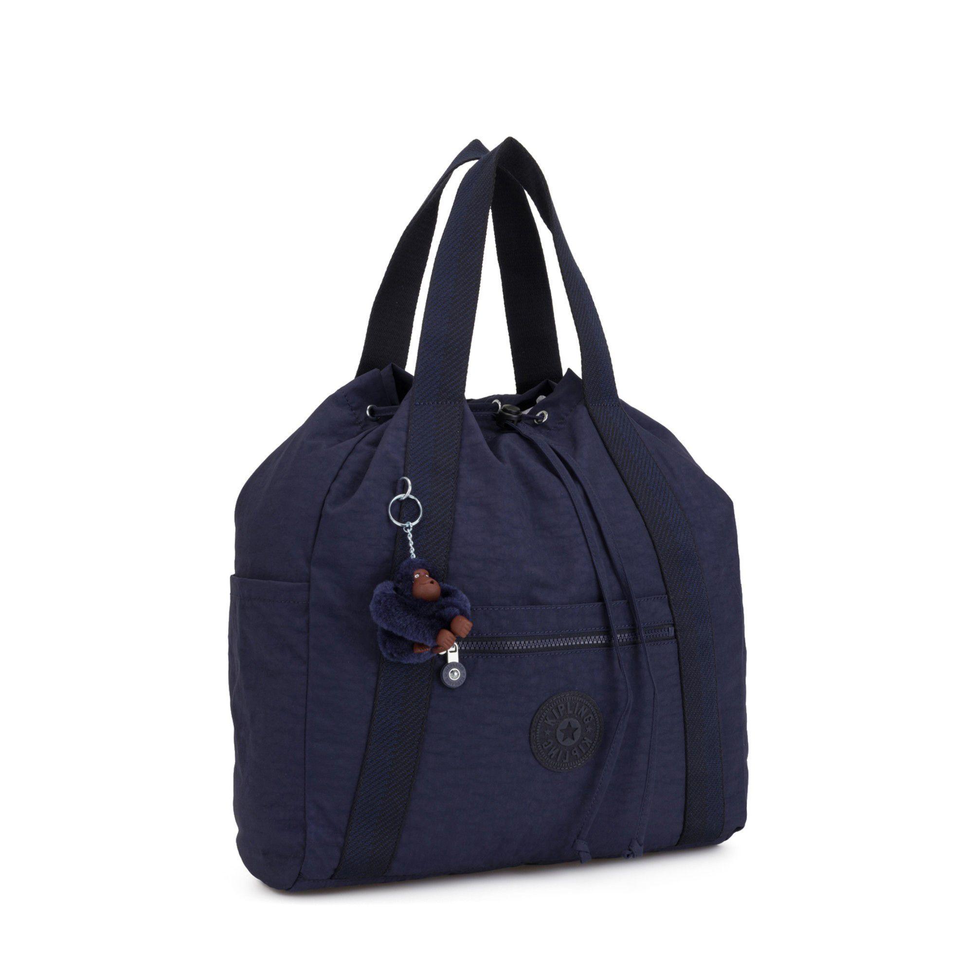 c90cad2a3f Kipling - Dark Blue 'art M' Travel Trolley Sleeve Tote Bag - Lyst. View  fullscreen