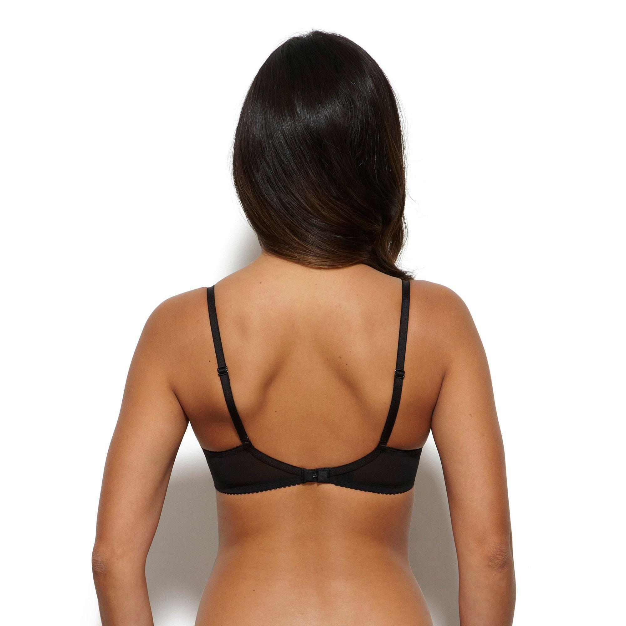 865b3a4db7d1d Gossard - Black  superboost  Lace Underwired Push Up Plunge Bra - Lyst.  View fullscreen