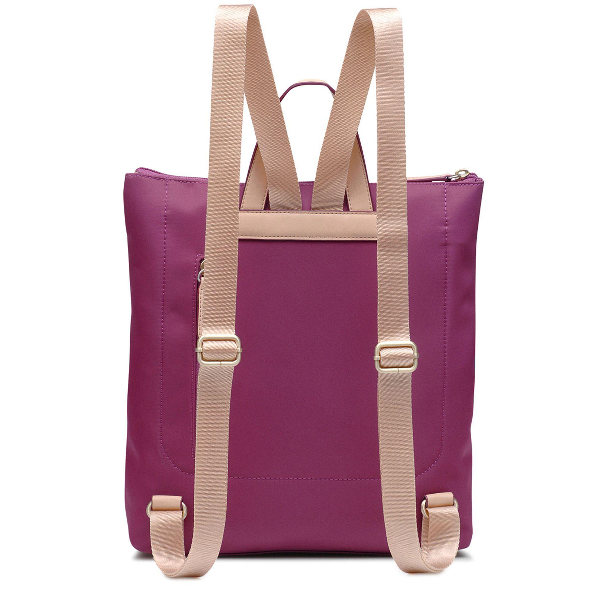 Radley Pink Pocket Essentials Large Zip-top Backpack in Pink - Lyst 83e5a93c2107e