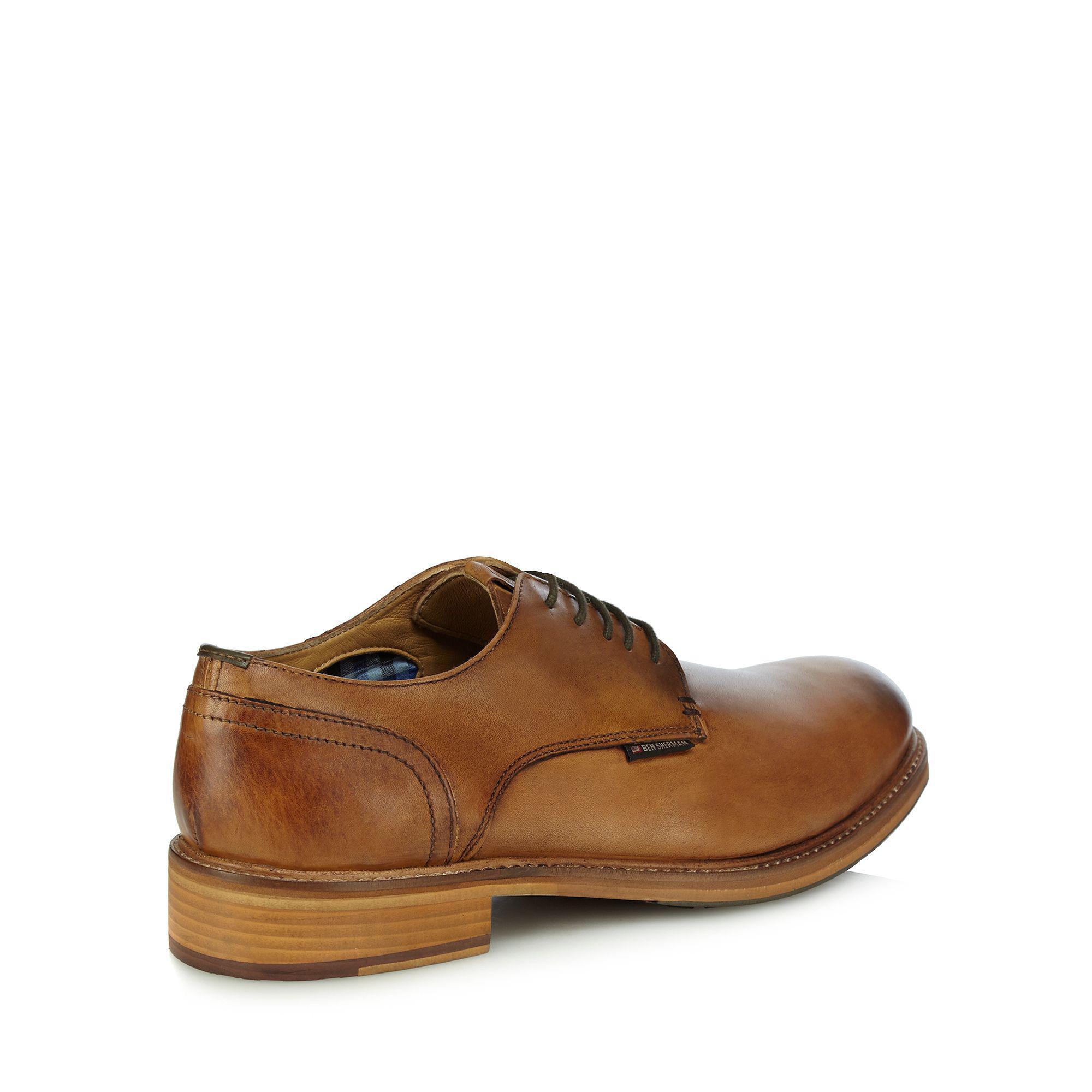 Ben Sherman Tan Leder Derby Schuhes in Men Braun for Men in Lyst f3c02b