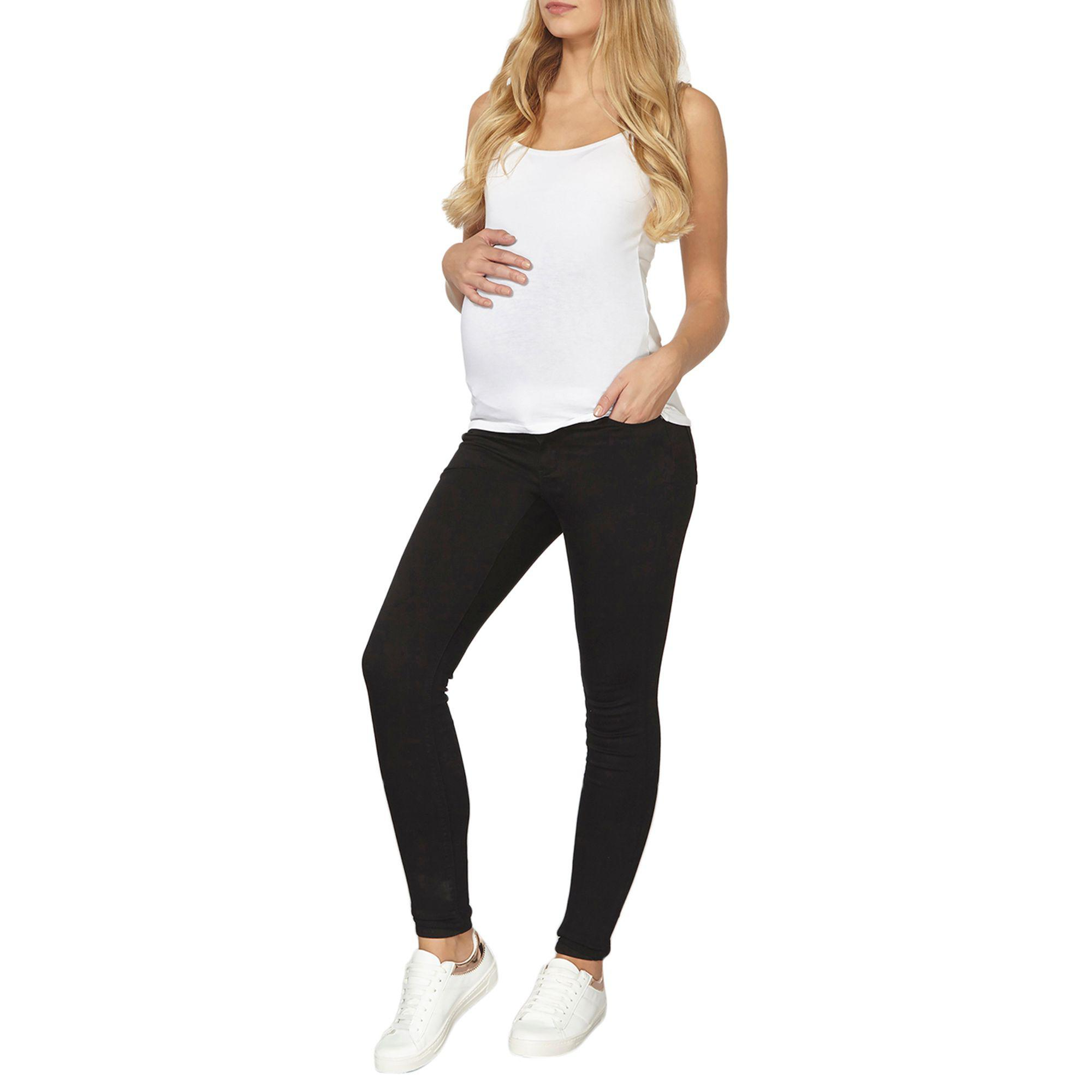 f1aed1d614570 Dorothy Perkins Maternity Forever Fit Black Jeans in Black - Lyst