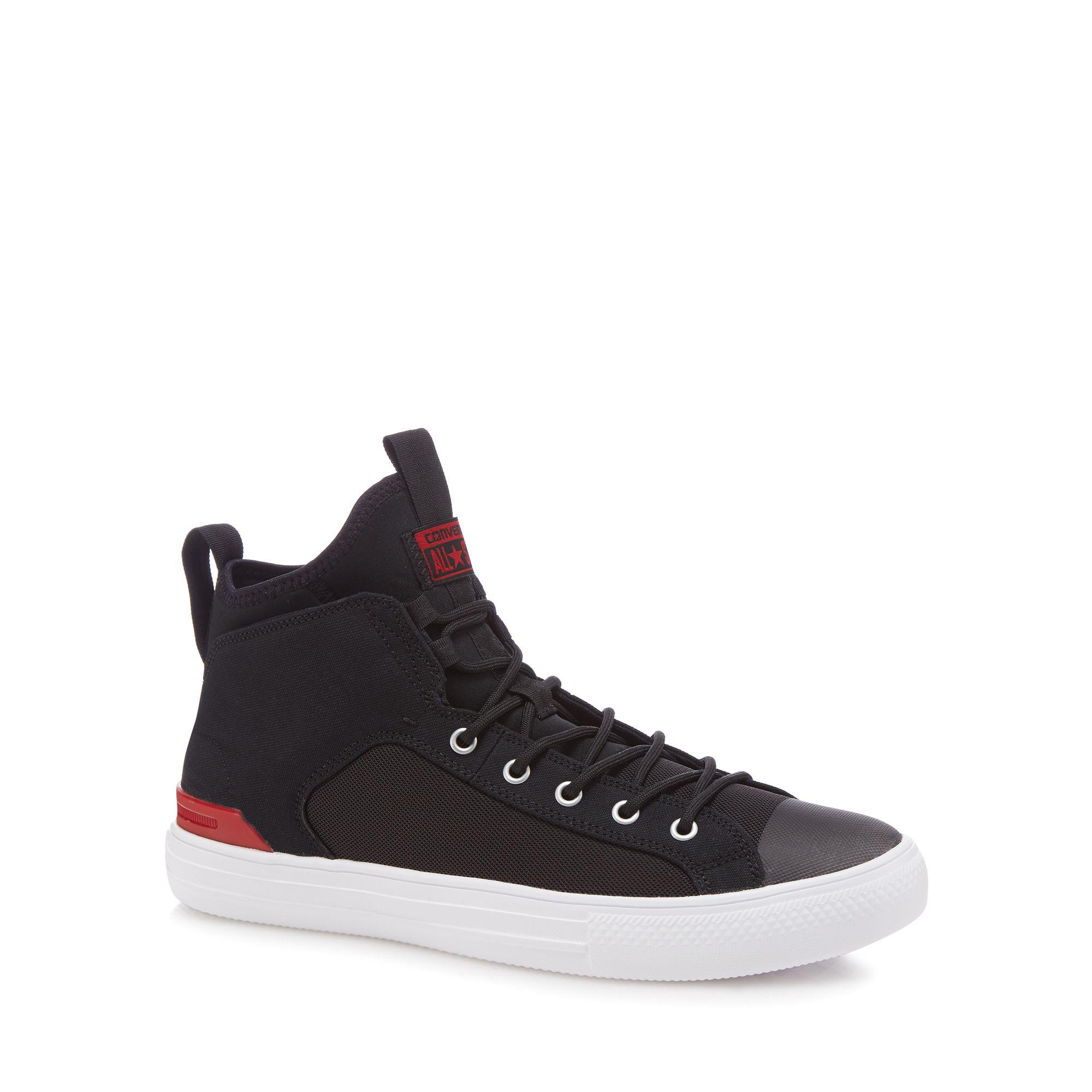 6aae91e28c0d Converse Black  chuck Taylor All Star  Hi-top Trainers in Black for ...