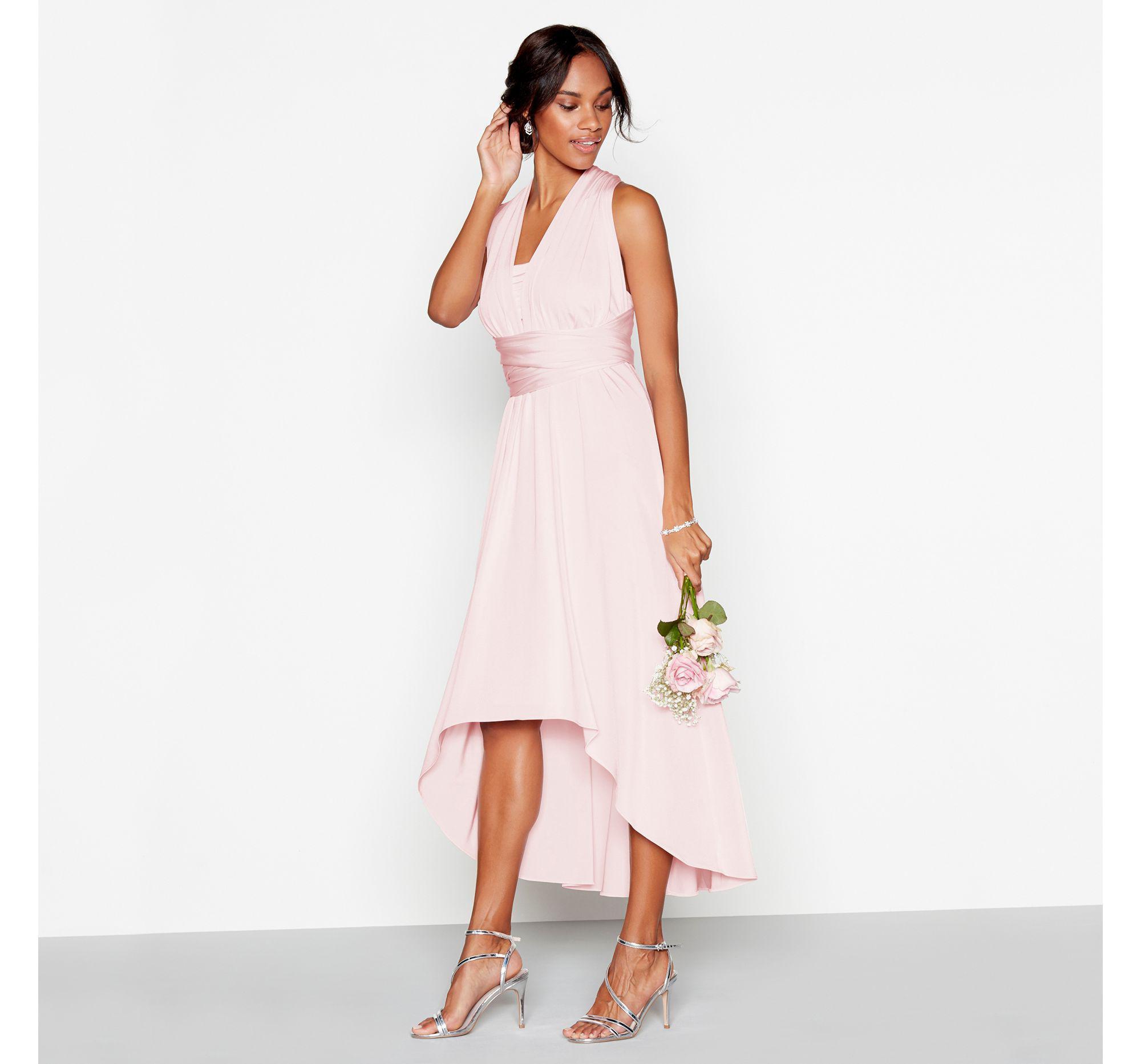 19e8e205081 Debut Light Grey Multiway Evening Dress