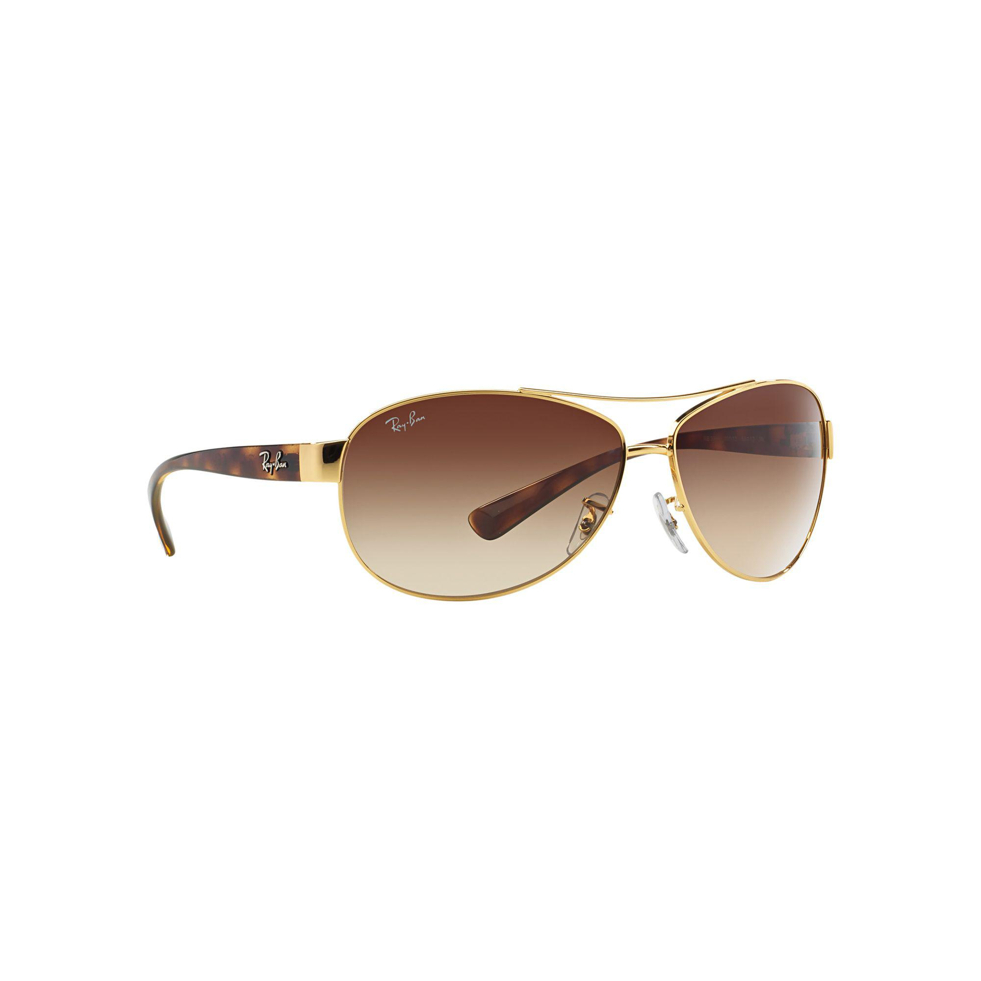 d995300422 ... discount code for ray ban arista rb3386 pilot sunglasses in metallic for  men lyst df14d c784d
