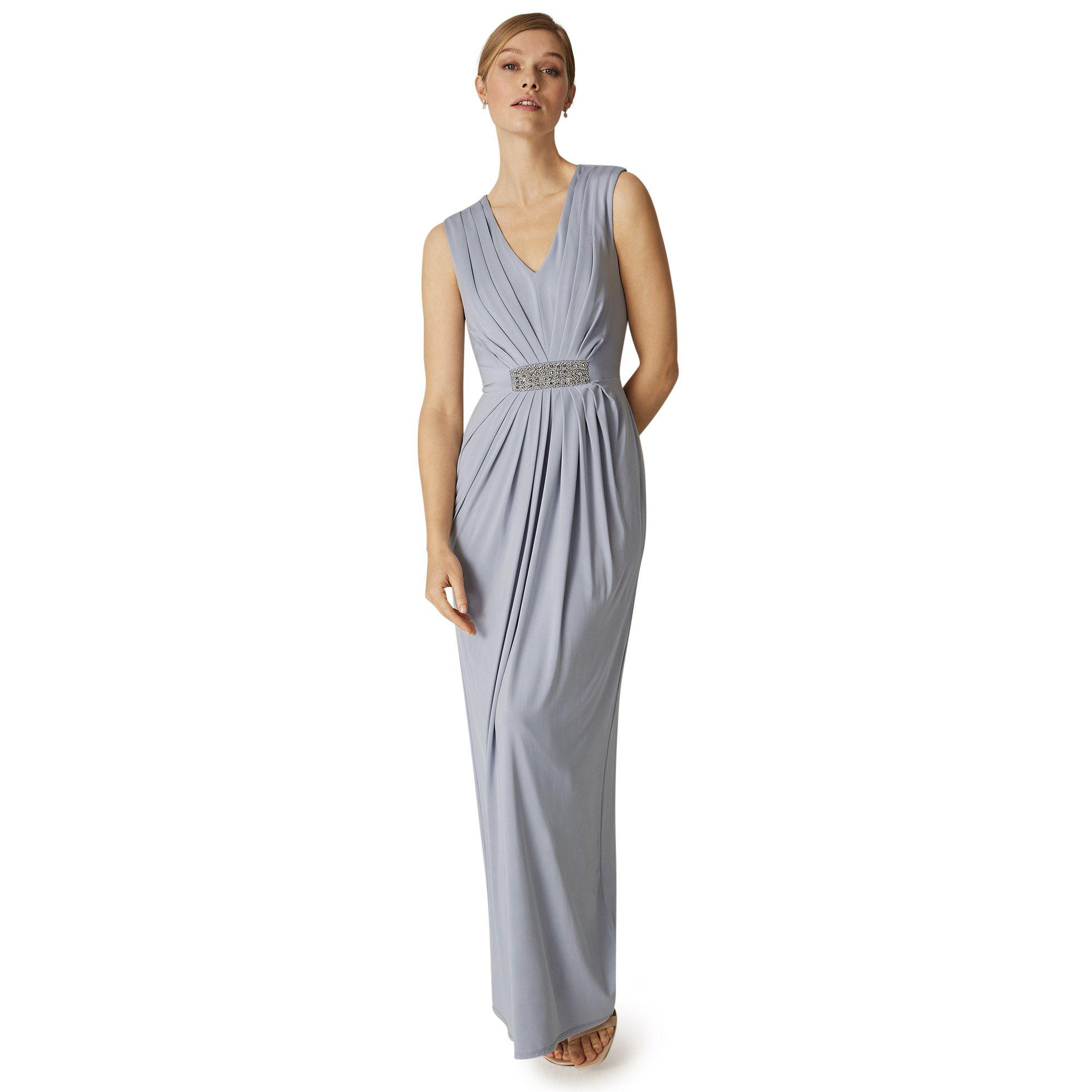 30053ceb9f Phase Eight Natural Martha Embellished Maxi Dress in Natural - Lyst
