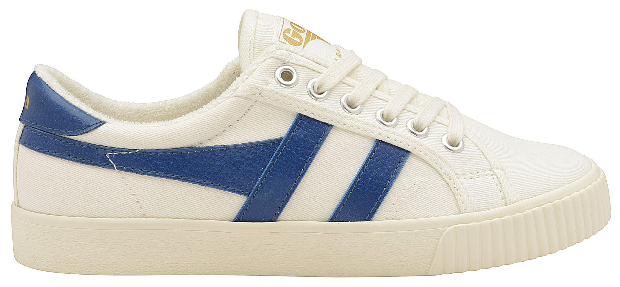 Off white and vintage blue 'Mark Cox' ladies trainers outlet Cheapest nRCFMpFh9i