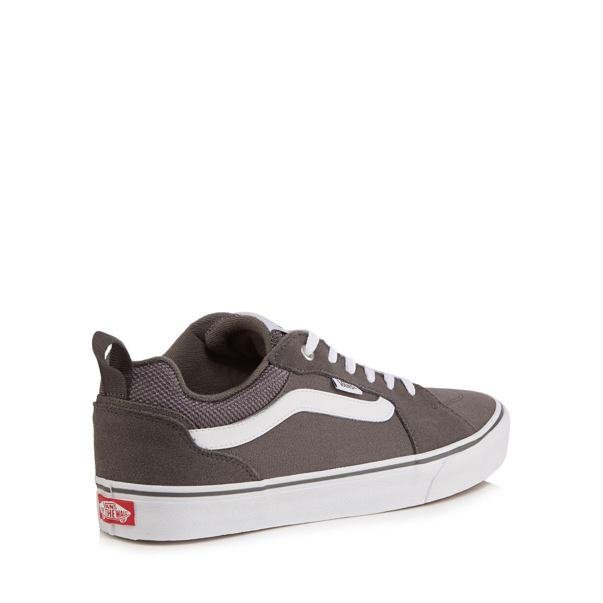 Grey 'Filmore' lace up trainers sale best wholesale clearance supply cheap real finishline wholesale price for sale shopping online cheap price 5h6YV