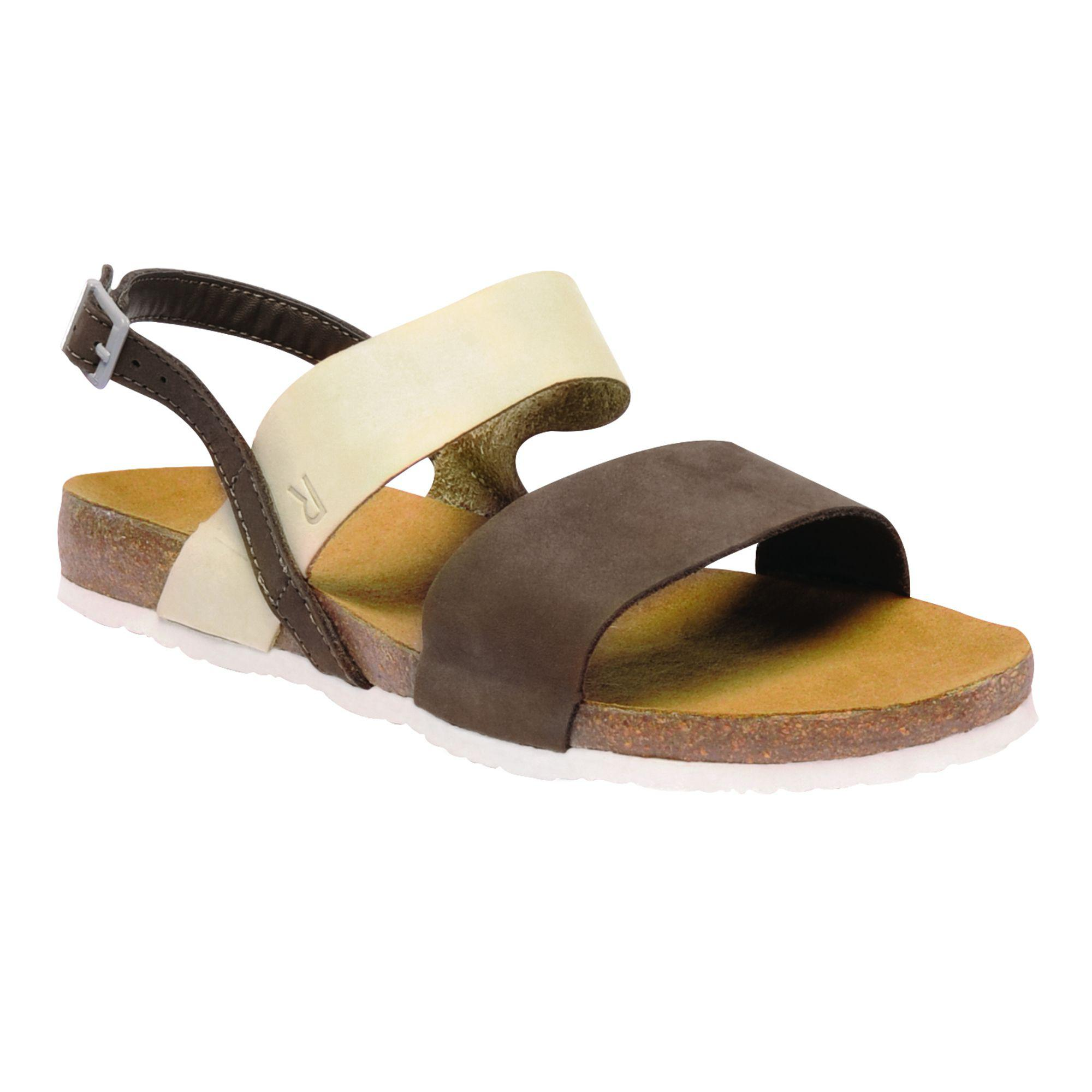 Brown 'lady Jazmin' sandals