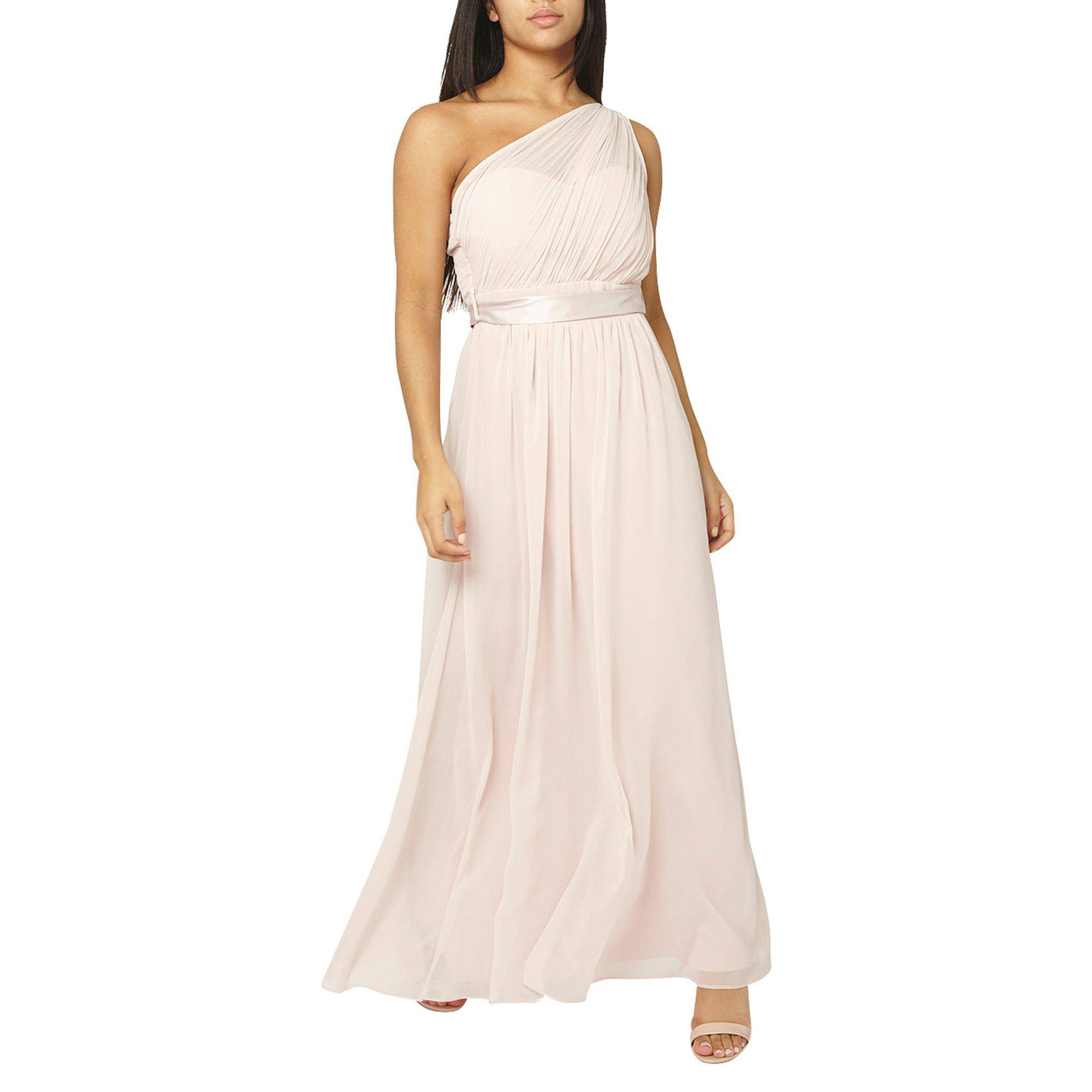 461f30bf235 Dorothy Perkins Showcase Blush Sadie Maxi Dress in Pink - Lyst