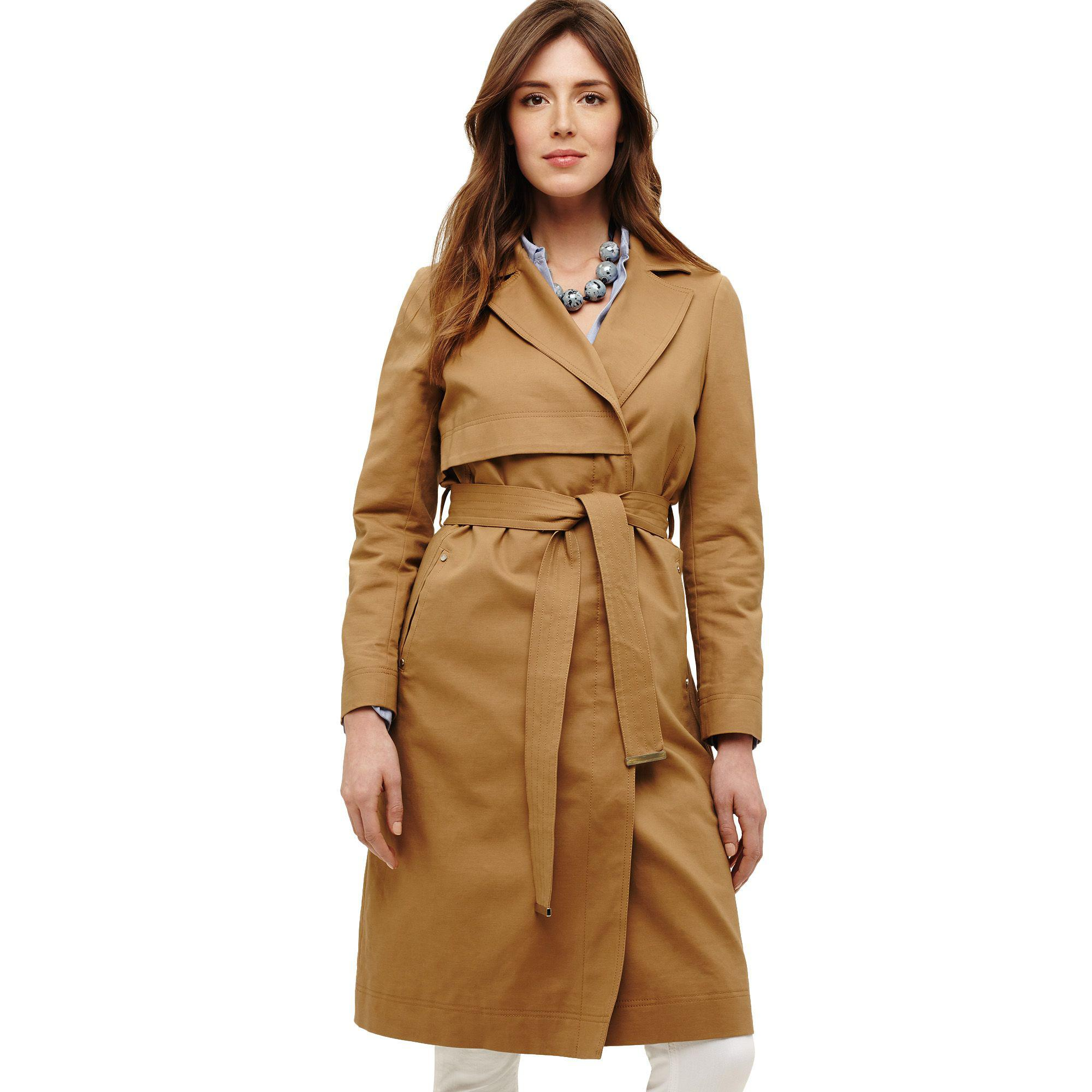 67bfb09ec6f2 Phase Eight - Natural Tayte Belted Trench Coat - Lyst. View fullscreen
