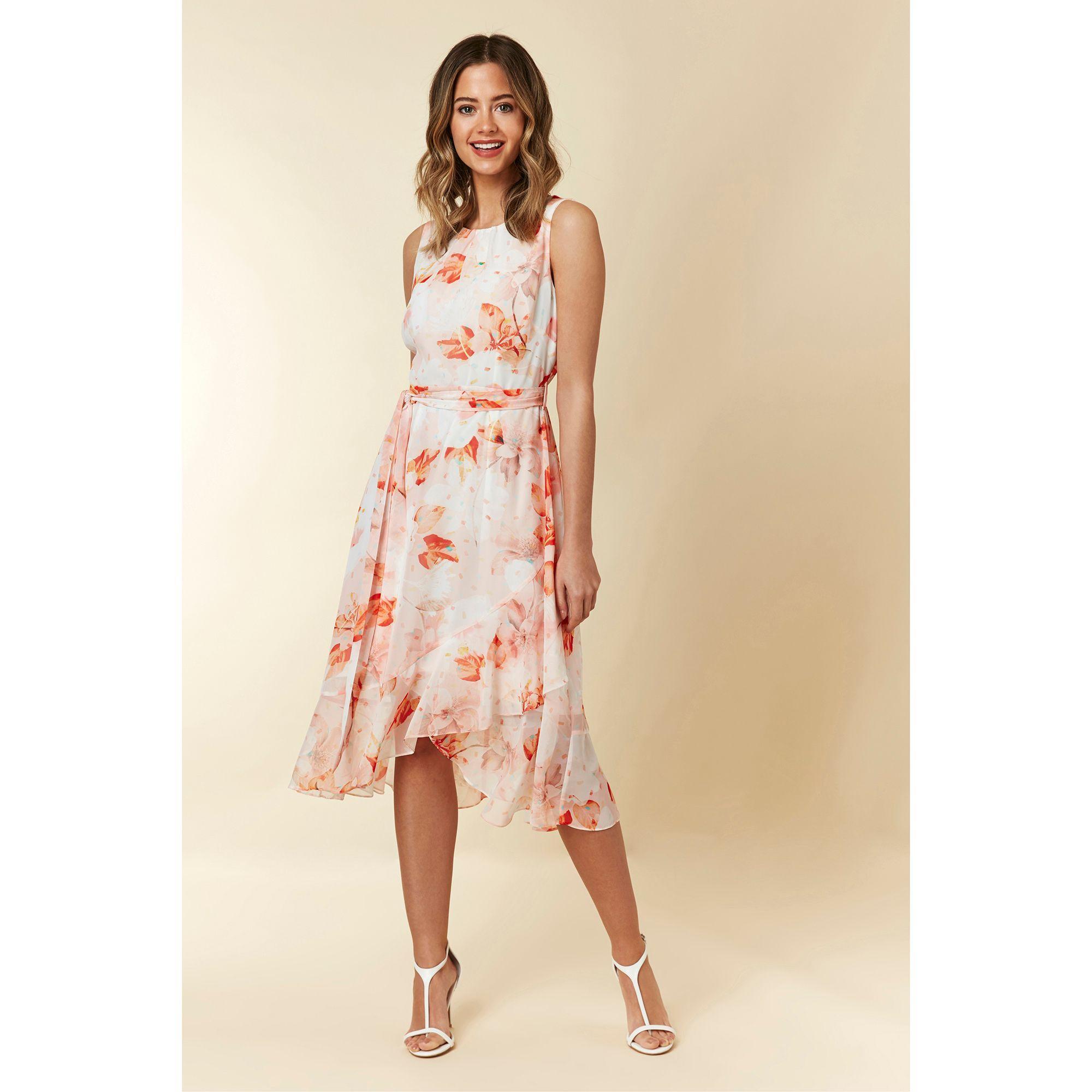 2d238c06e75d5 Wallis Petite Navy Floral Print Maxi Dress - Aztec Stone and ...