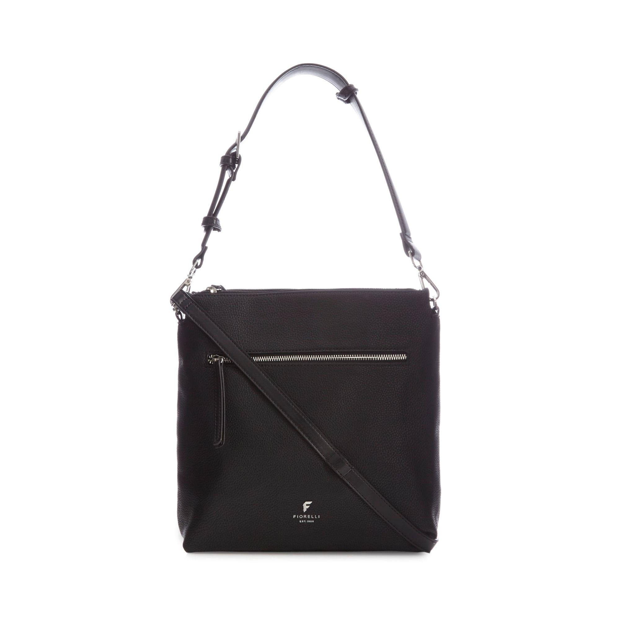 Fiorelli Black  elliot  Satchel Bag in Black - Lyst 3fb8ebd5049ab