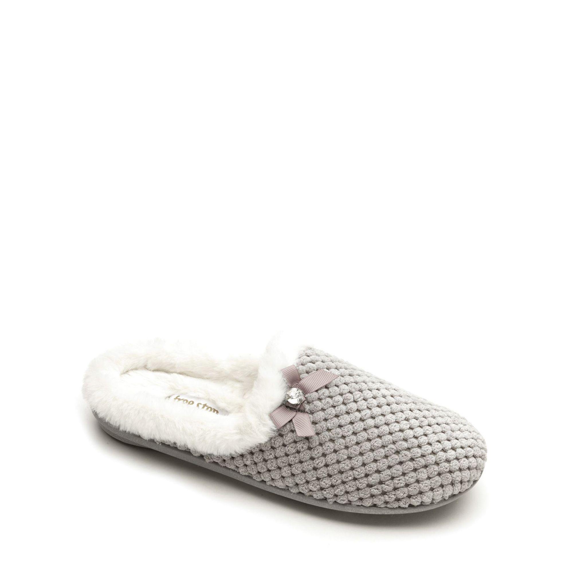 discount order Grey textile ladies slippers cheap sale visit new sale recommend ebay cheap price CSqxzJz3qo