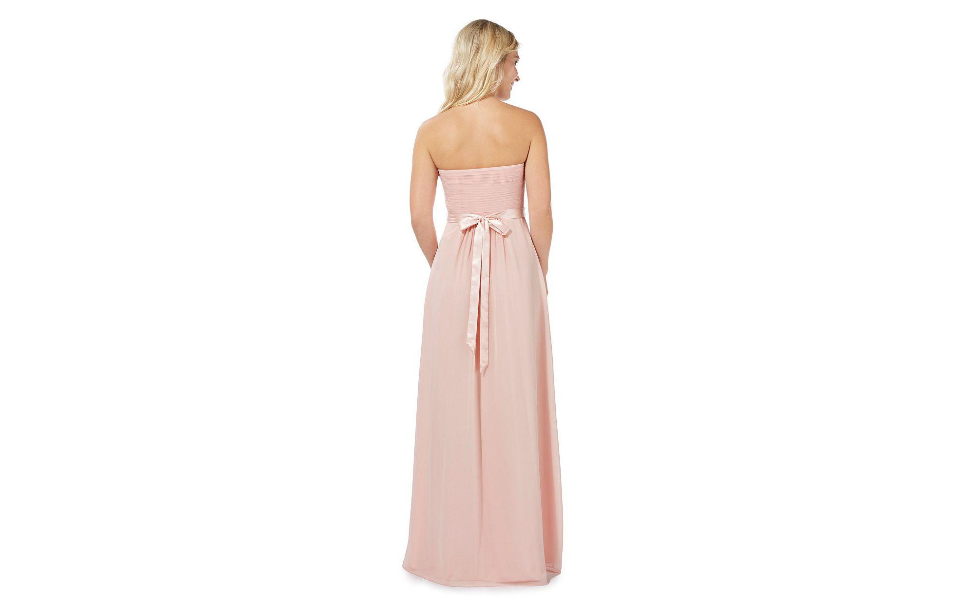 a218bec8dca2 Gallery. Previously sold at: Debenhams · Women's Bandeau Dresses Women's  Pink ...