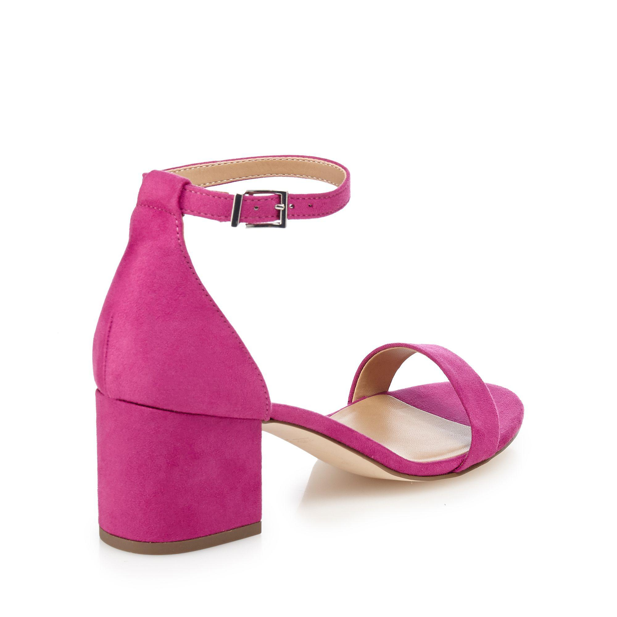 1b8d7ae2cbcf Call It Spring Dark Pink  borewiel  Mid Block Heel Ankle Strap ...