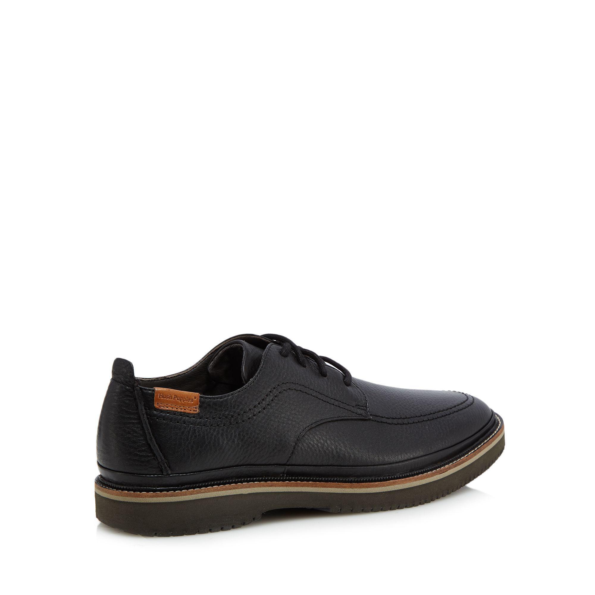 low shipping fee sale online Black leather 'Kurt Bernard' Derby shoes limited edition sale online free shipping best place online Shop AFK5l33