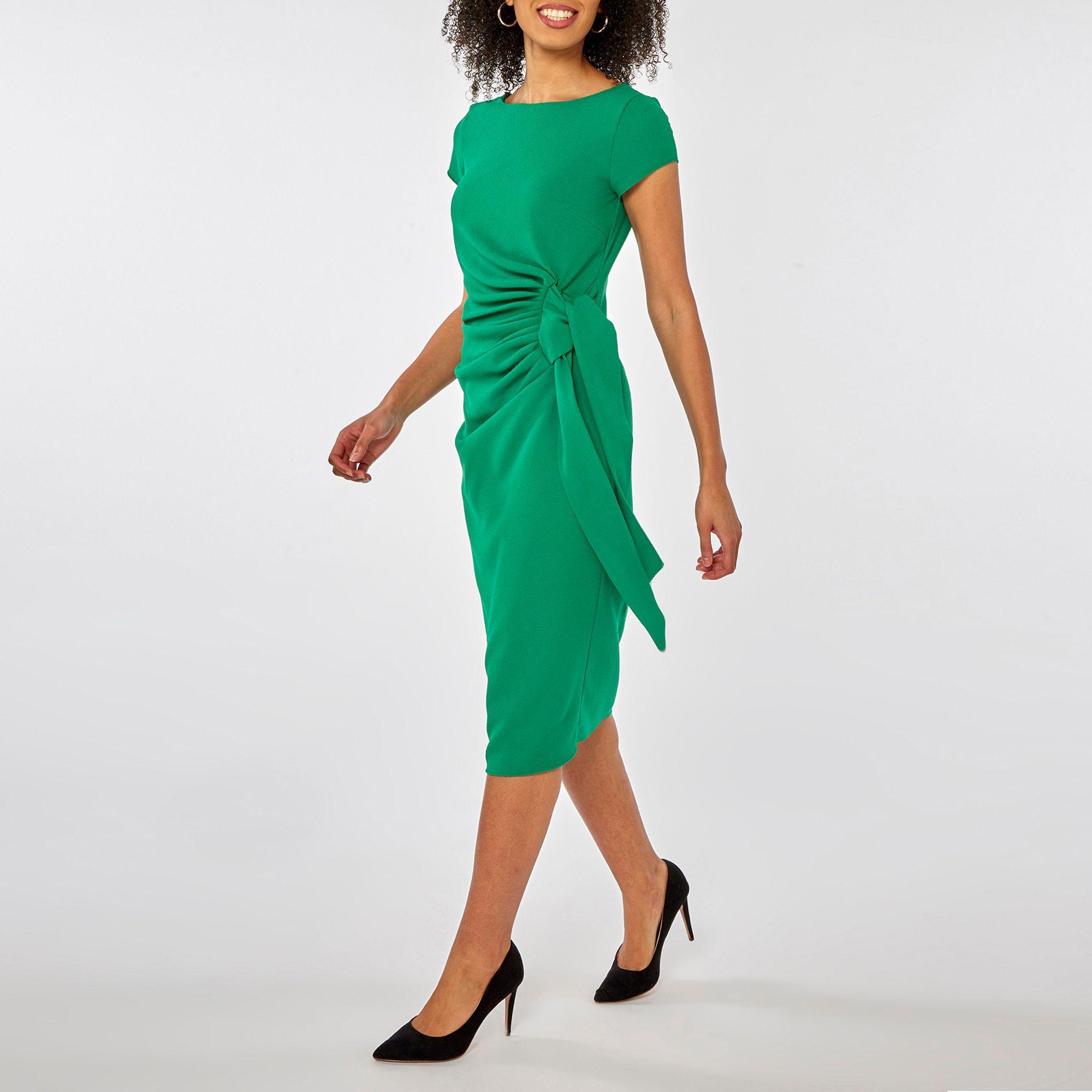 b8649f4418 Dorothy Perkins Green Shift Dress in Green - Save 24% - Lyst