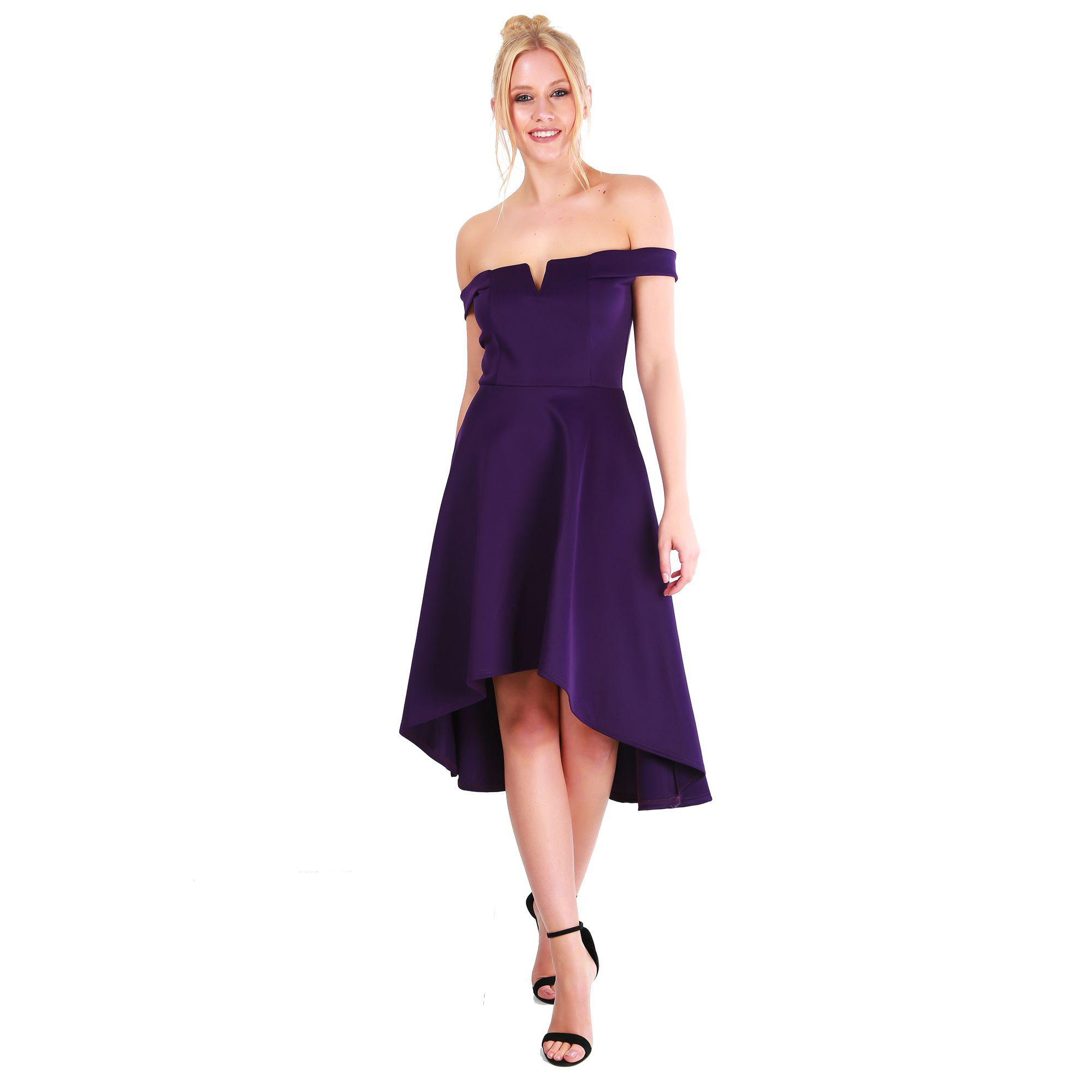368fddef8743 Gallery. Previously sold at  Debenhams · Women s Off The Shoulder Dresses  Women s High ...