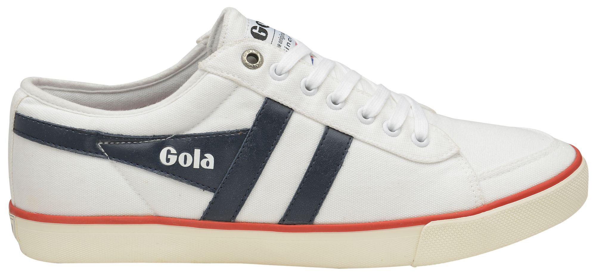 White 'Comet' mens plimsolls sale cheapest price buy cheap big discount cheap sale footlocker Nrwninp