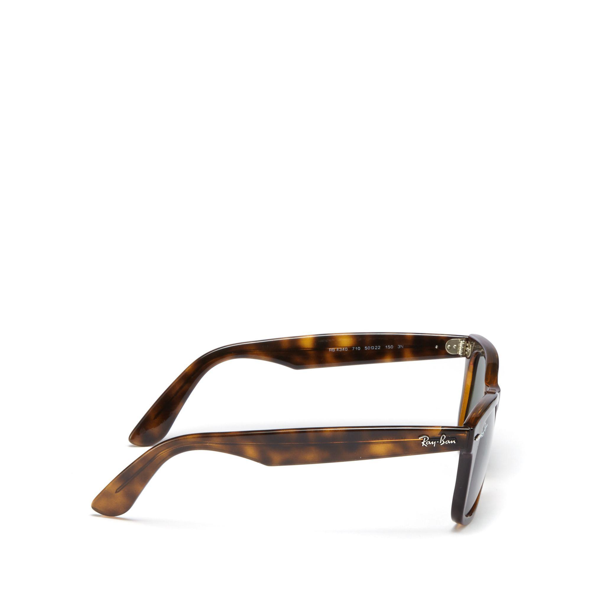 255873da5aa Ray-Ban Brown  wayfarer Ease  Rb4340 Sunglasses in Green for Men - Lyst