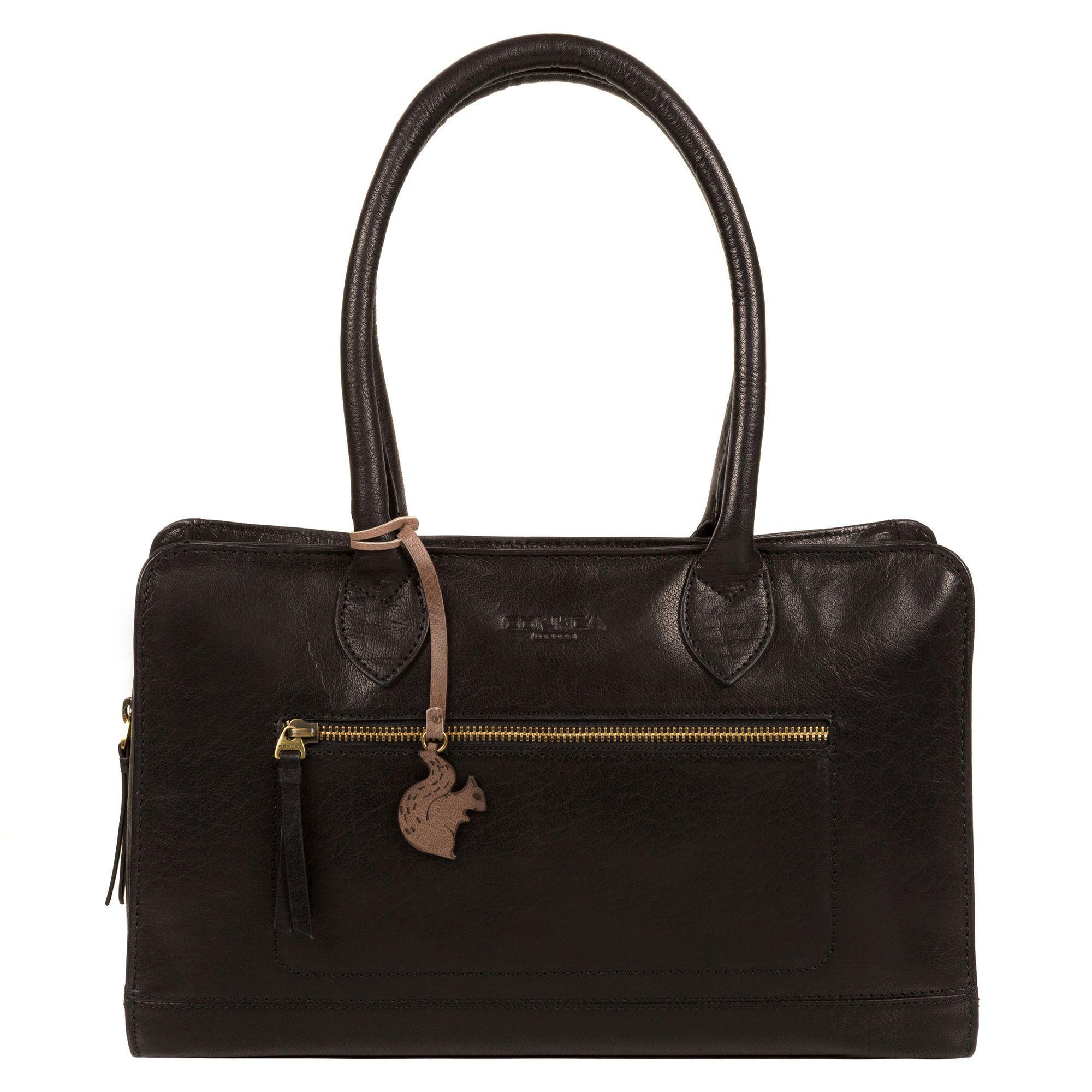 Mantaray Black Woven Cross Body Bag