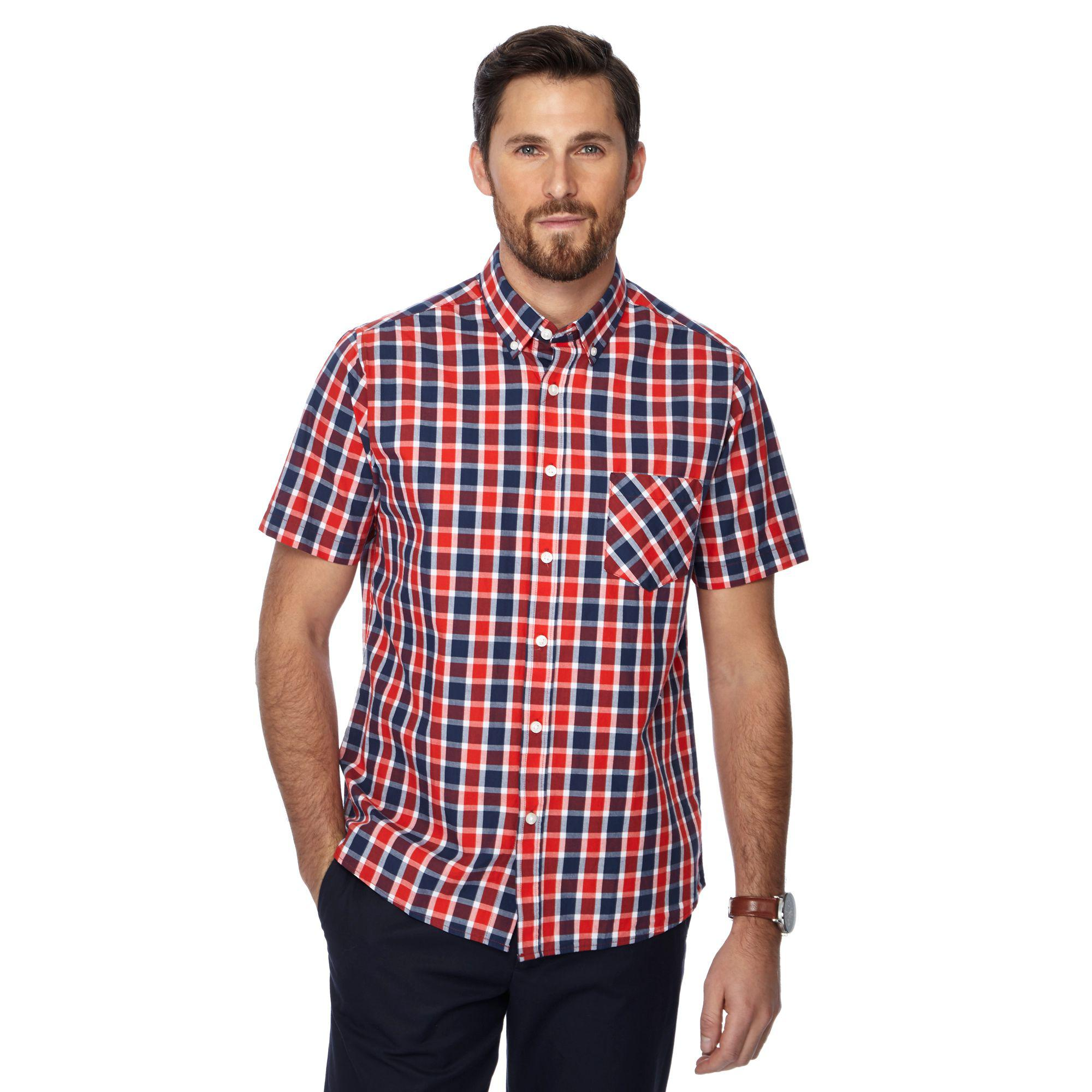 Mens Pier Short Sleeve Check Regular Length Casual Shirt Jacamo Online Cheapest  Cheap Sale Outlet Locations Cheapest Buy Cheap Footlocker Pictures Discount Really oFEpHRdA