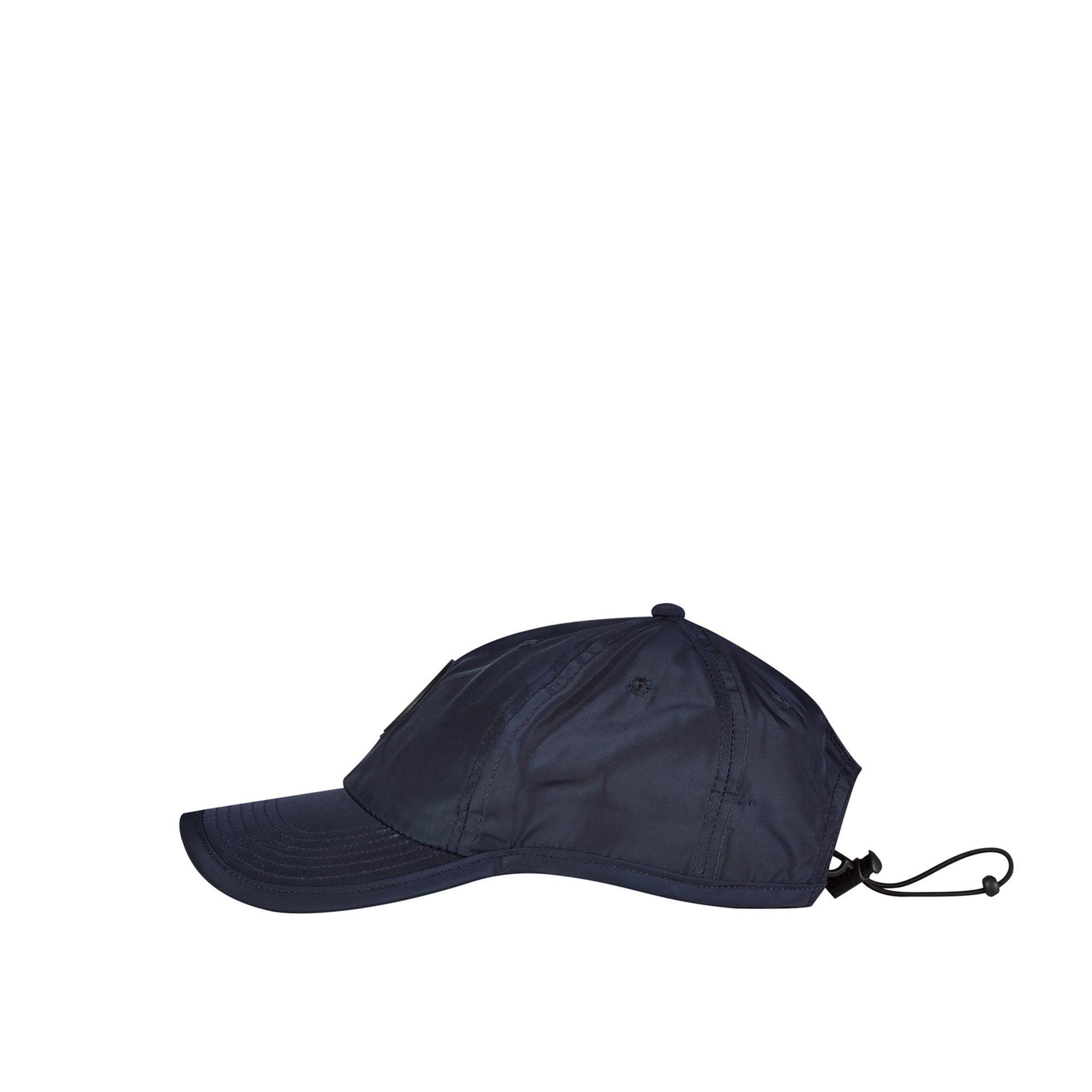 d51b3fe5 Burton Blue Nylon Badge Cap in Black for Men - Lyst