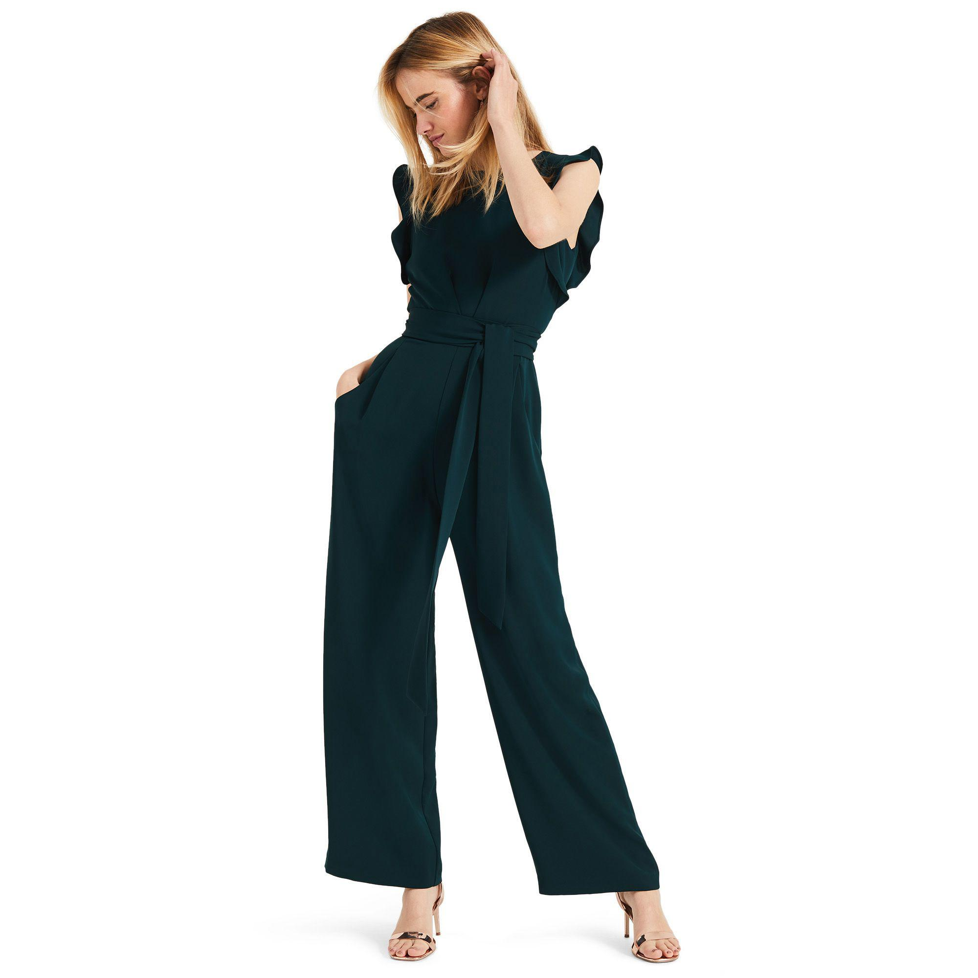 2c9de4df28 Phase Eight Green Victoriana Jumpsuit in Green - Lyst