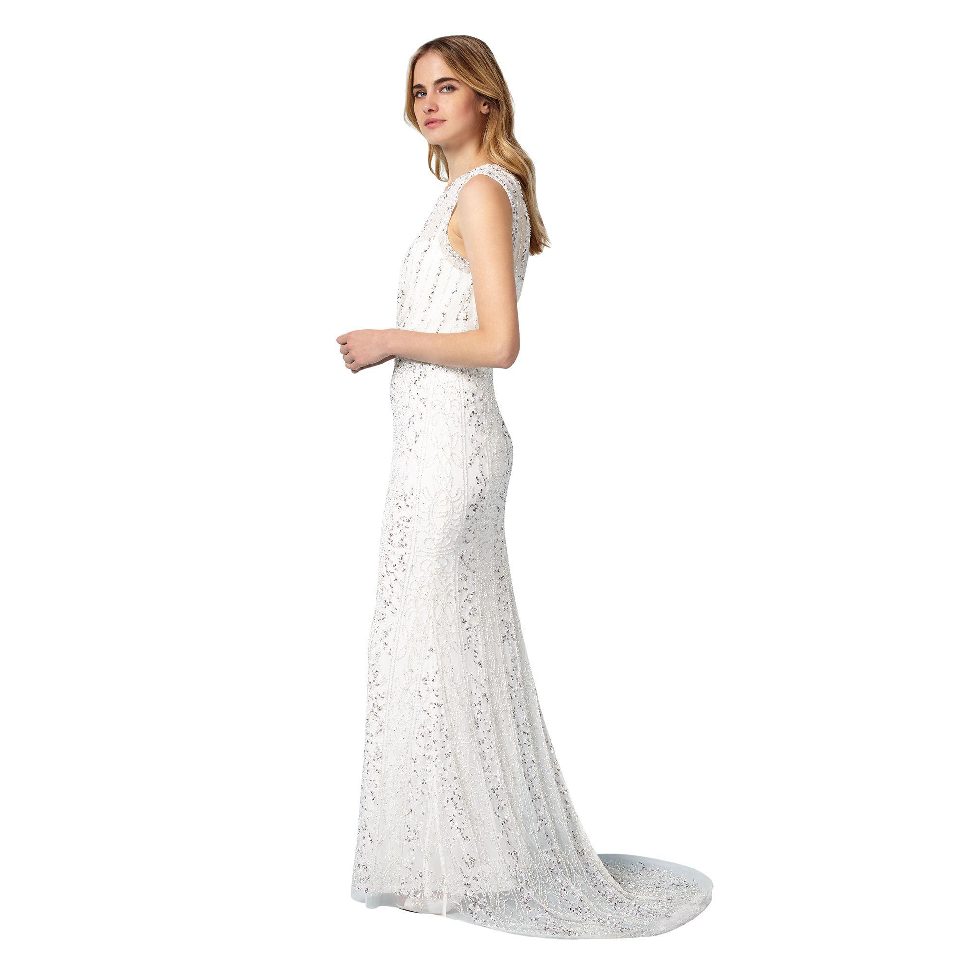 Phase Eight Ivory Hope Wedding Dress in White - Lyst