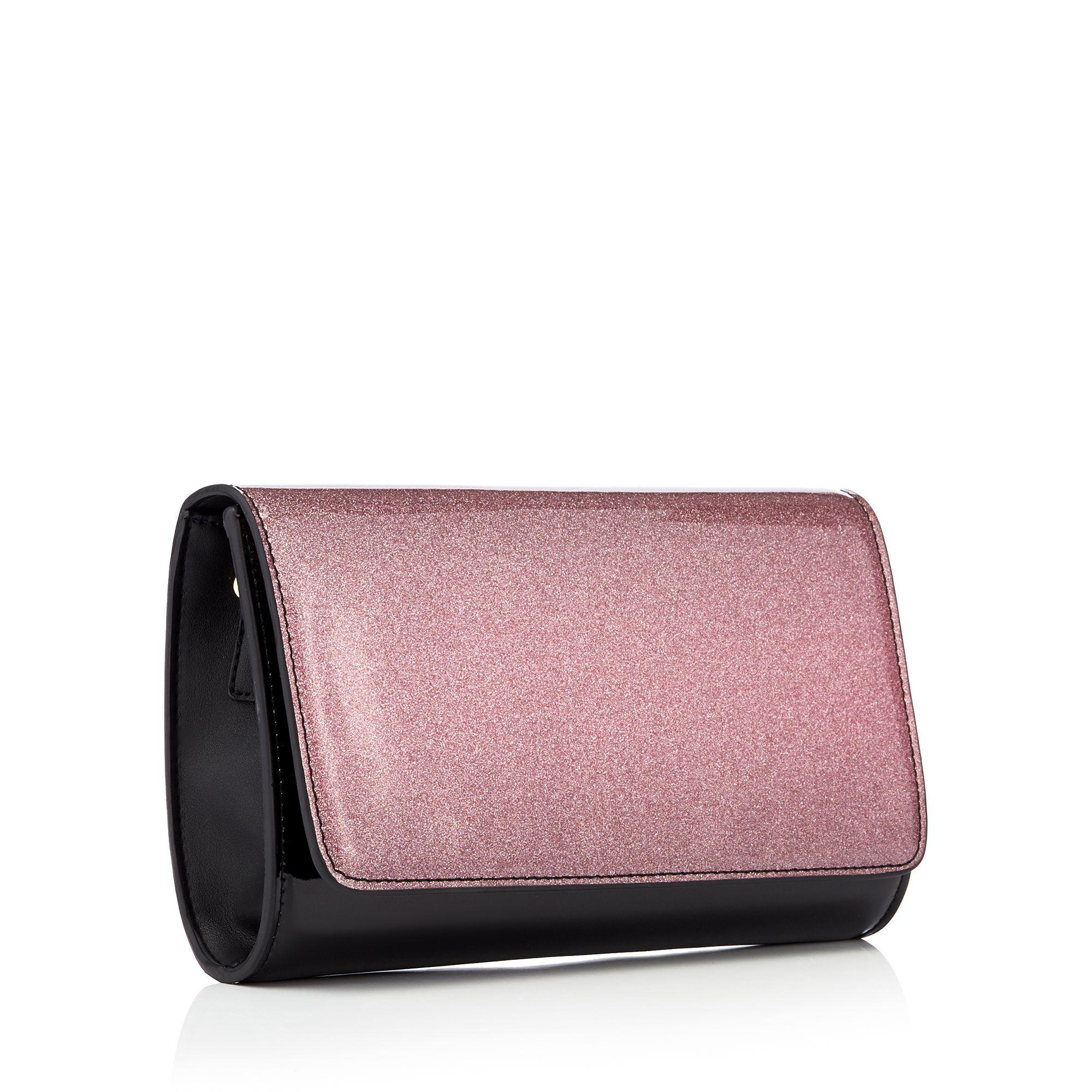 3fe3c1dc6f Faith Pink Patent Glitter Pombre Shoulder Bag In Lyst